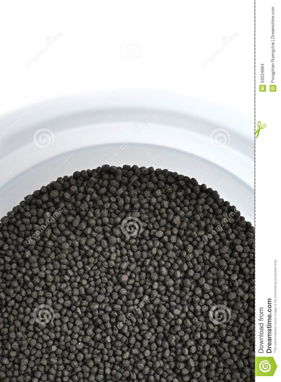 Pet fish food stock photo image 63034884 for Mosquito pellets