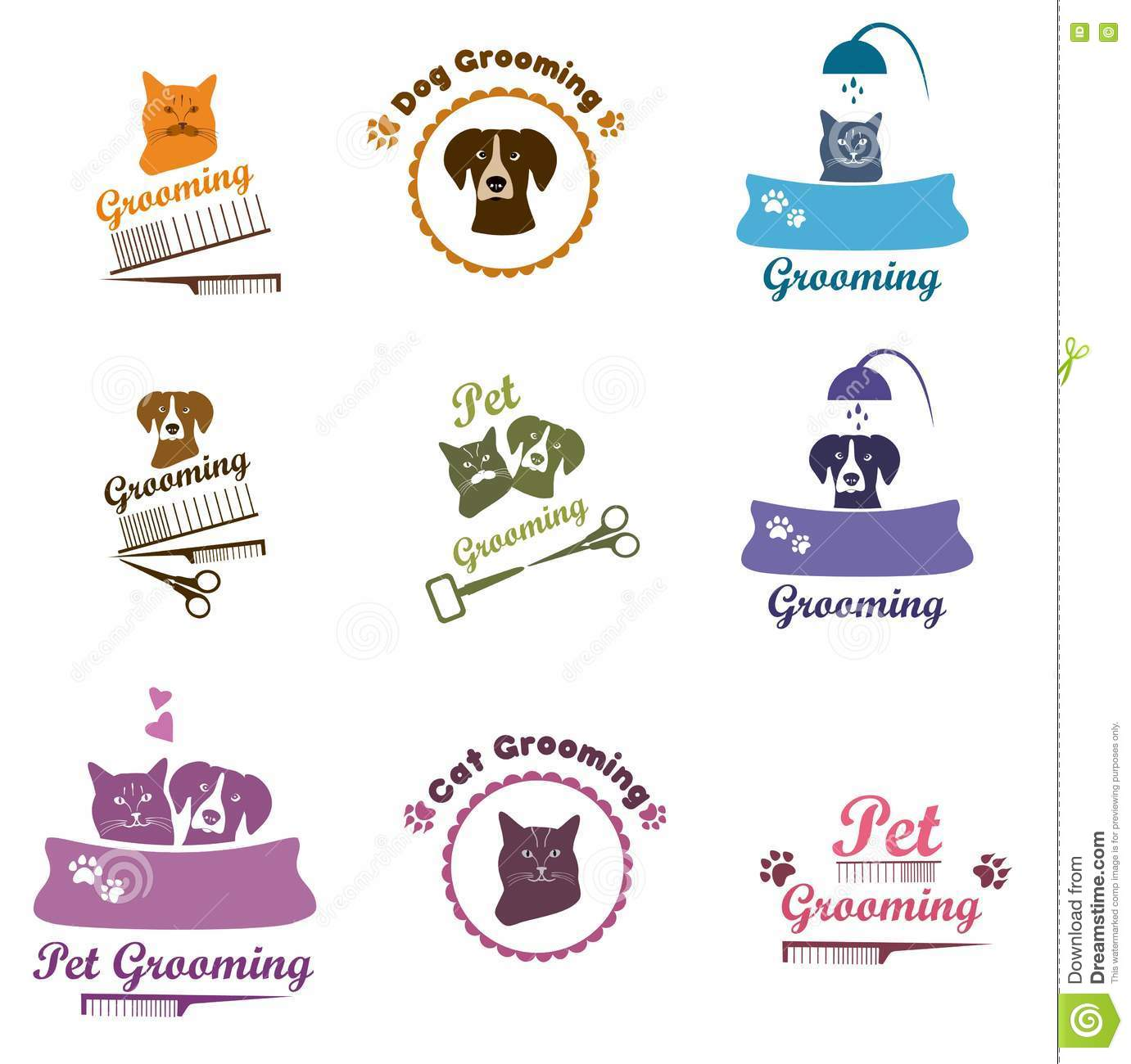 Dog Grooming Sign Ideas
