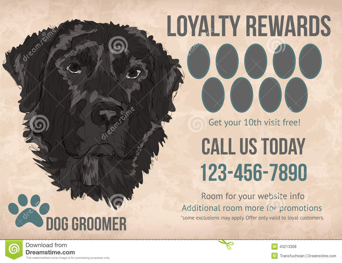 Free Printable Loyalty Card Template Boatjeremyeatonco - Free printable loyalty card template