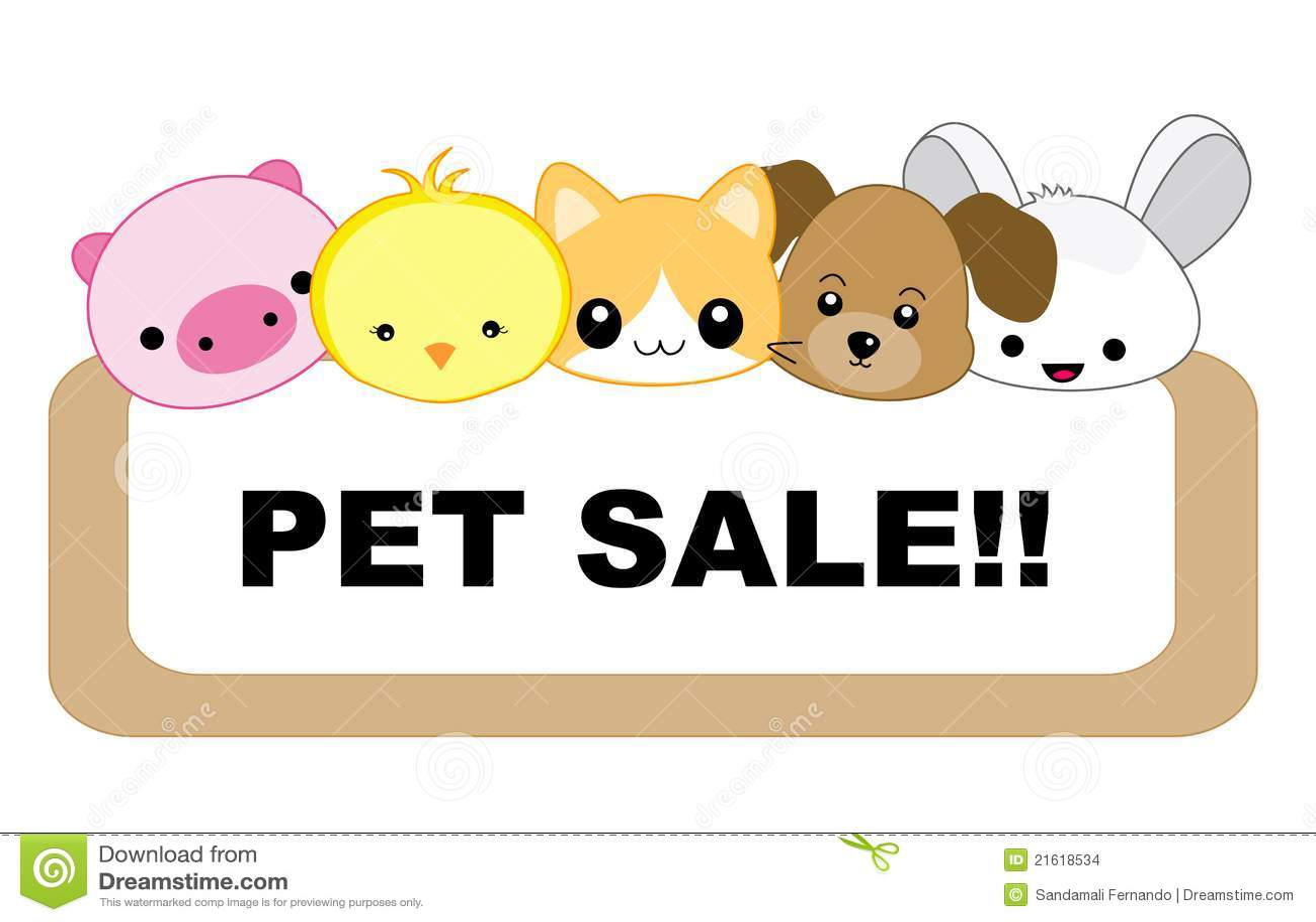 Pet Sale Stock Images Image 21618534