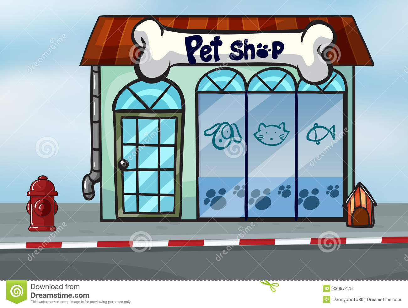 A Pet Shop Royalty Free Stock Photo Image 33097475