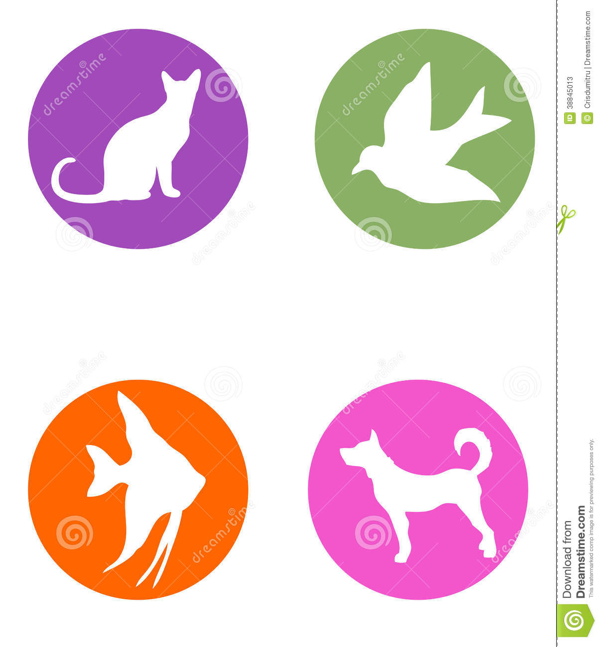 Pet Shop Logos Stock Illustration - Image: 38845013