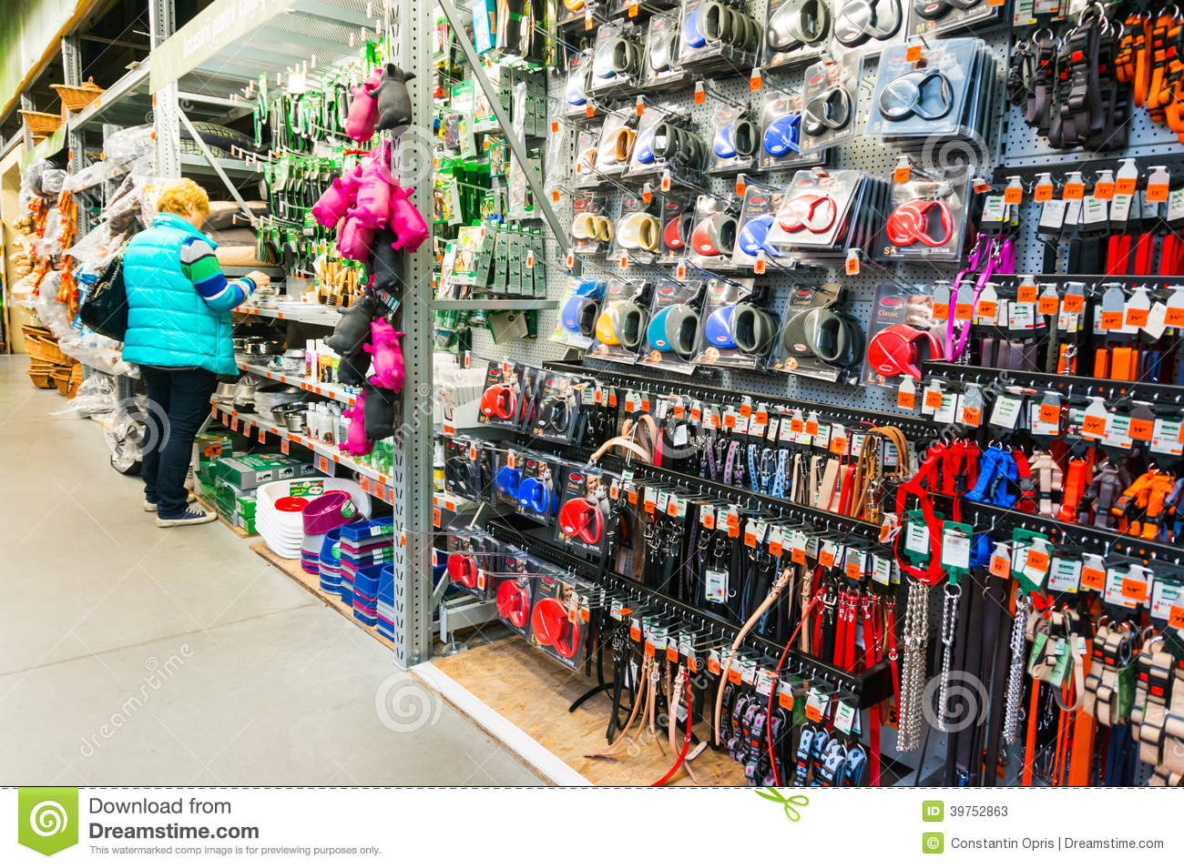 pet store accessories editorial stock photo   image 39752863