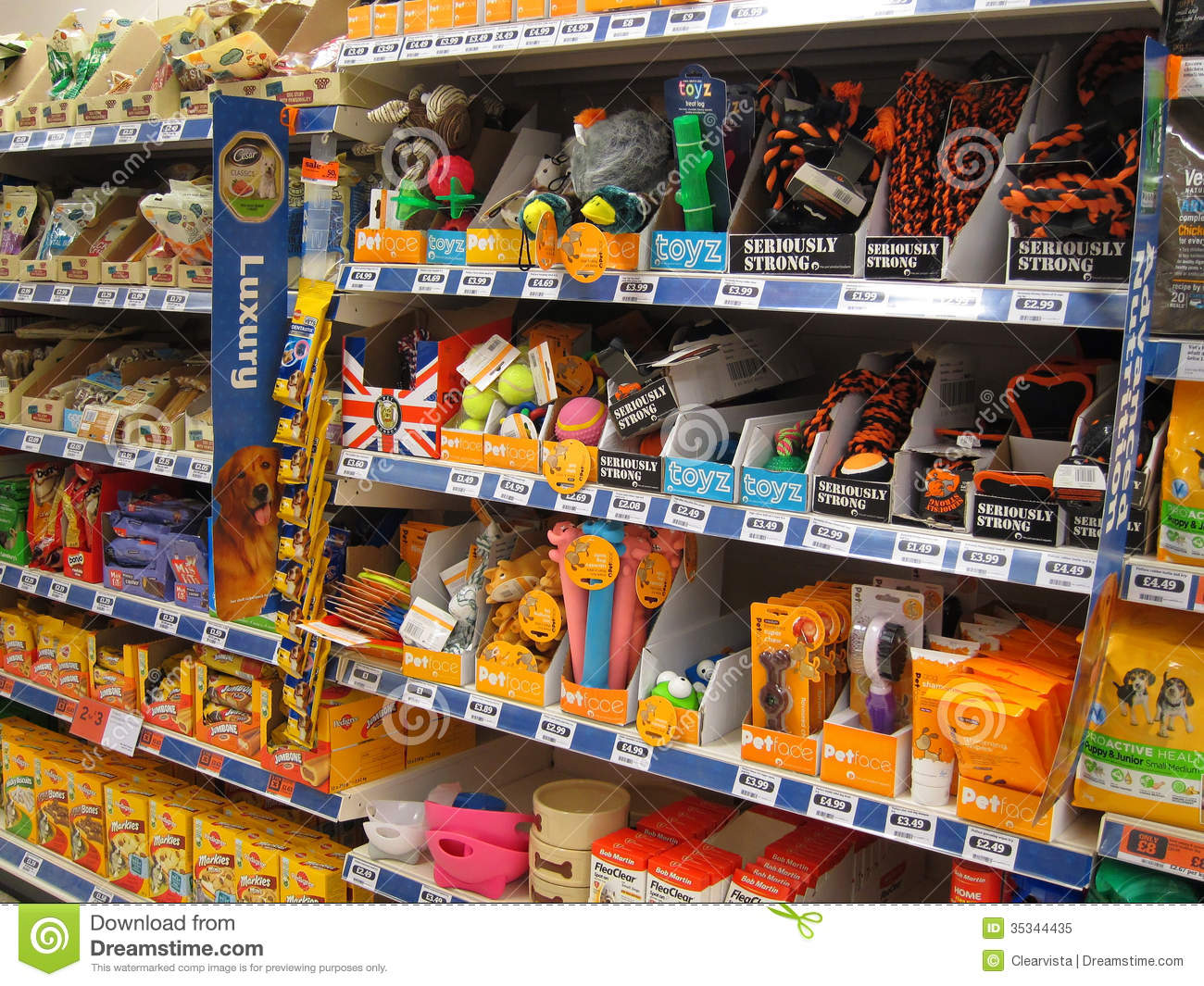 pet toys in a store editorial image image of animal