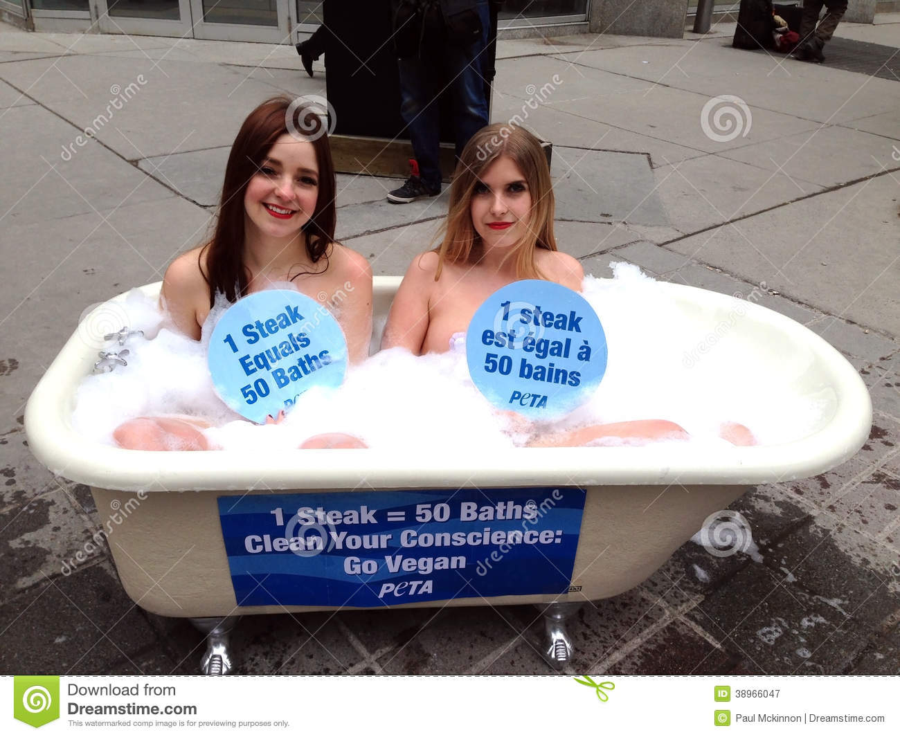 Peta Water Day Protest Editorial Photography Image Of