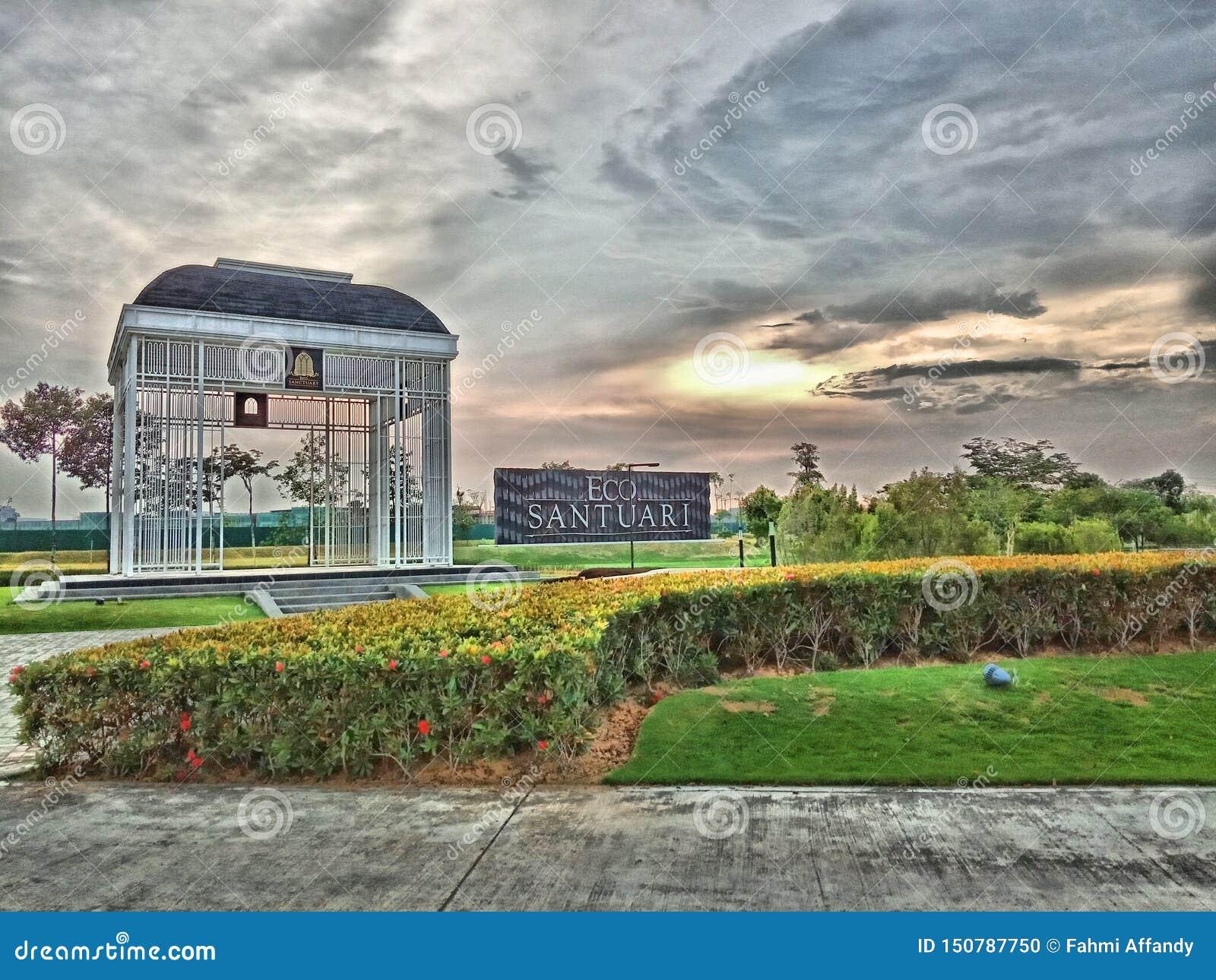 Petang suasana Eco santuary Shah Alam