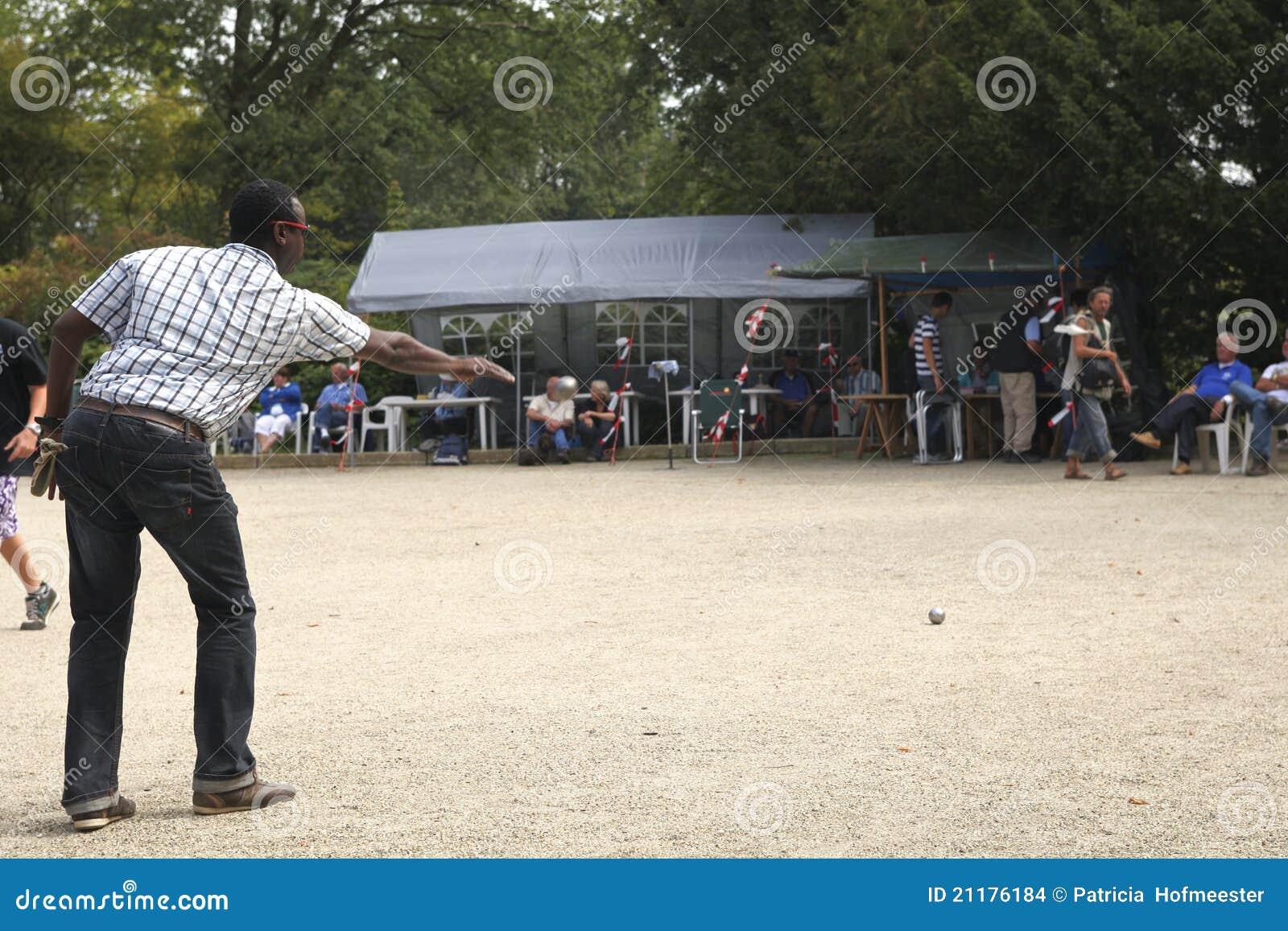 Petanque game