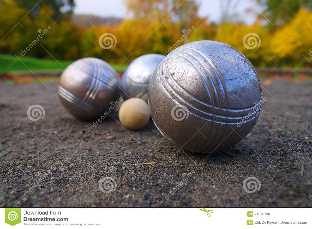 Petanque jeu de boules france sports game stock photo for Reglement jeu de petanque