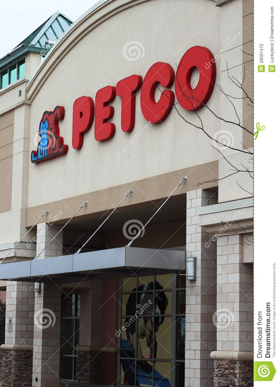 Petco Animal Pet Supplies Store Editorial Photography
