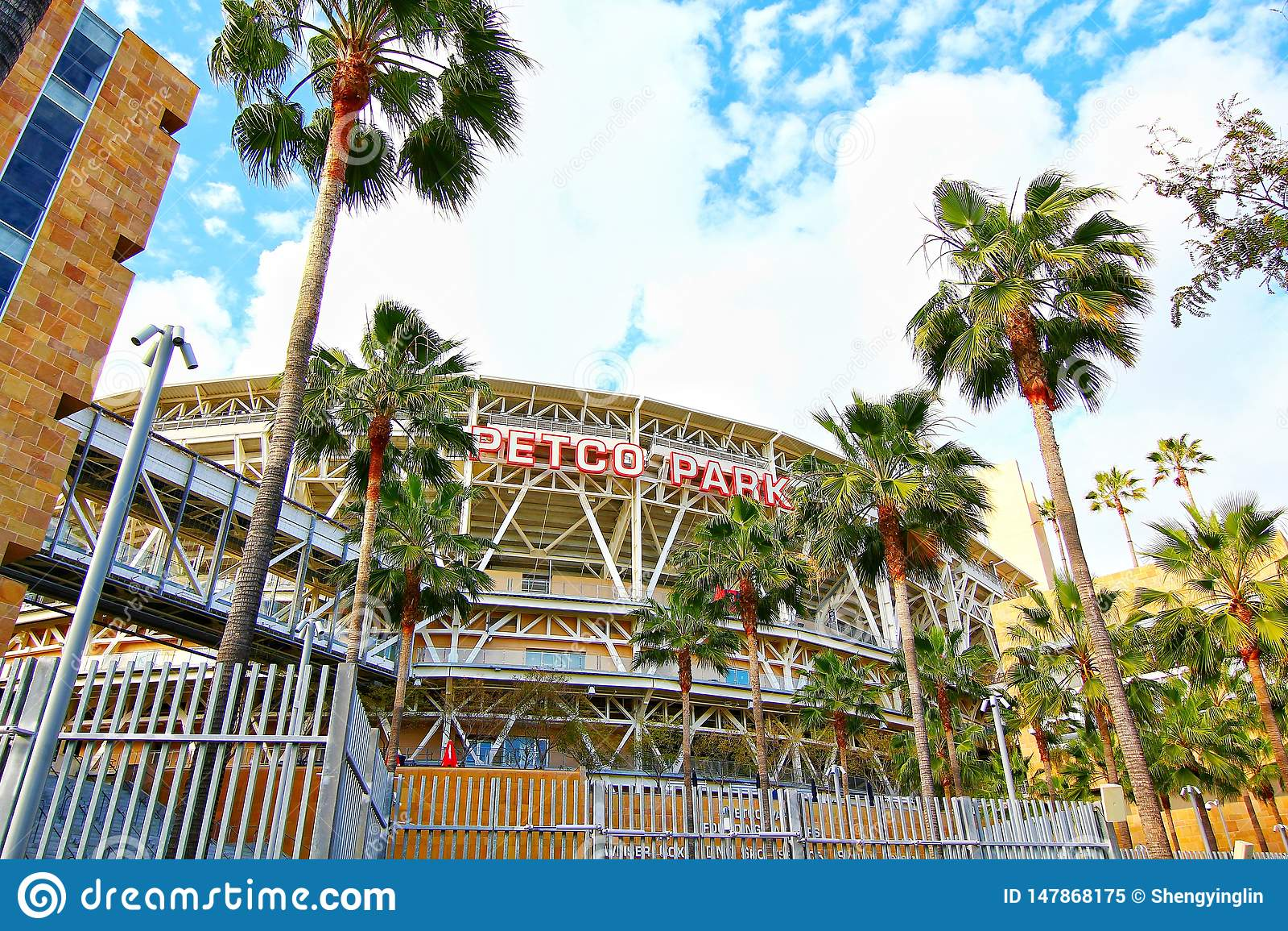 The Petco Park Baseball Stadium