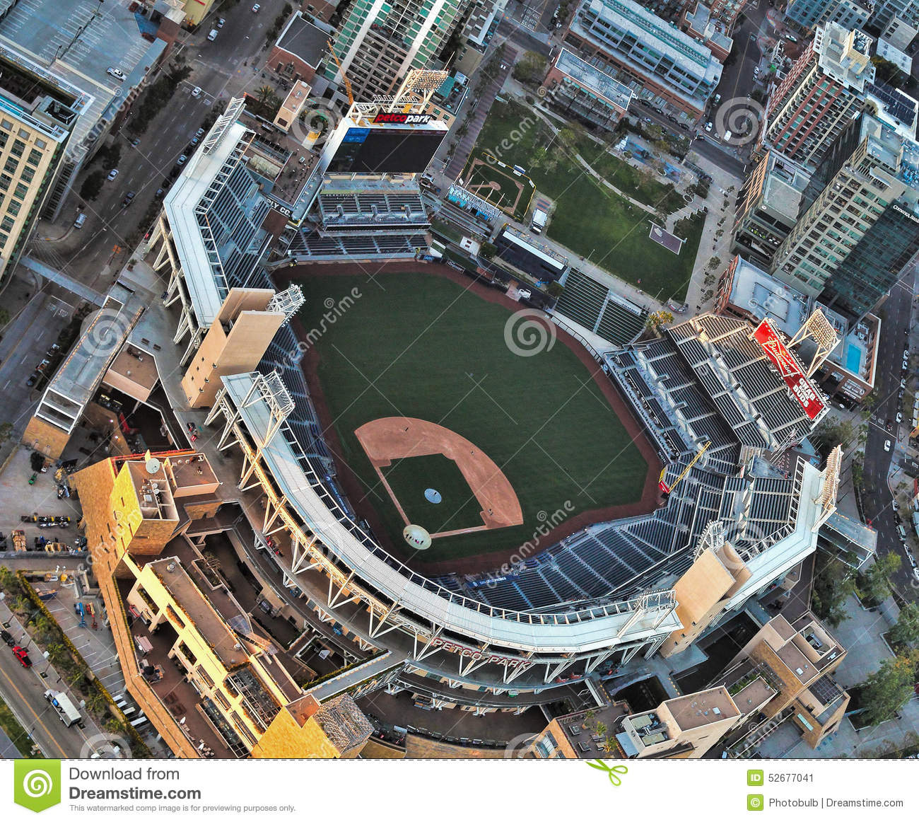 Petco Park--Home Of The San Diego Padres Editorial Photo - Image ...