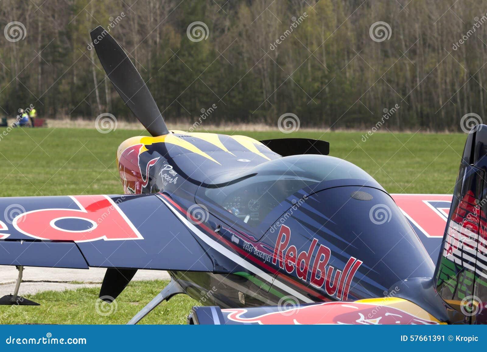 Peter Besenyei od Węgry na Airshow
