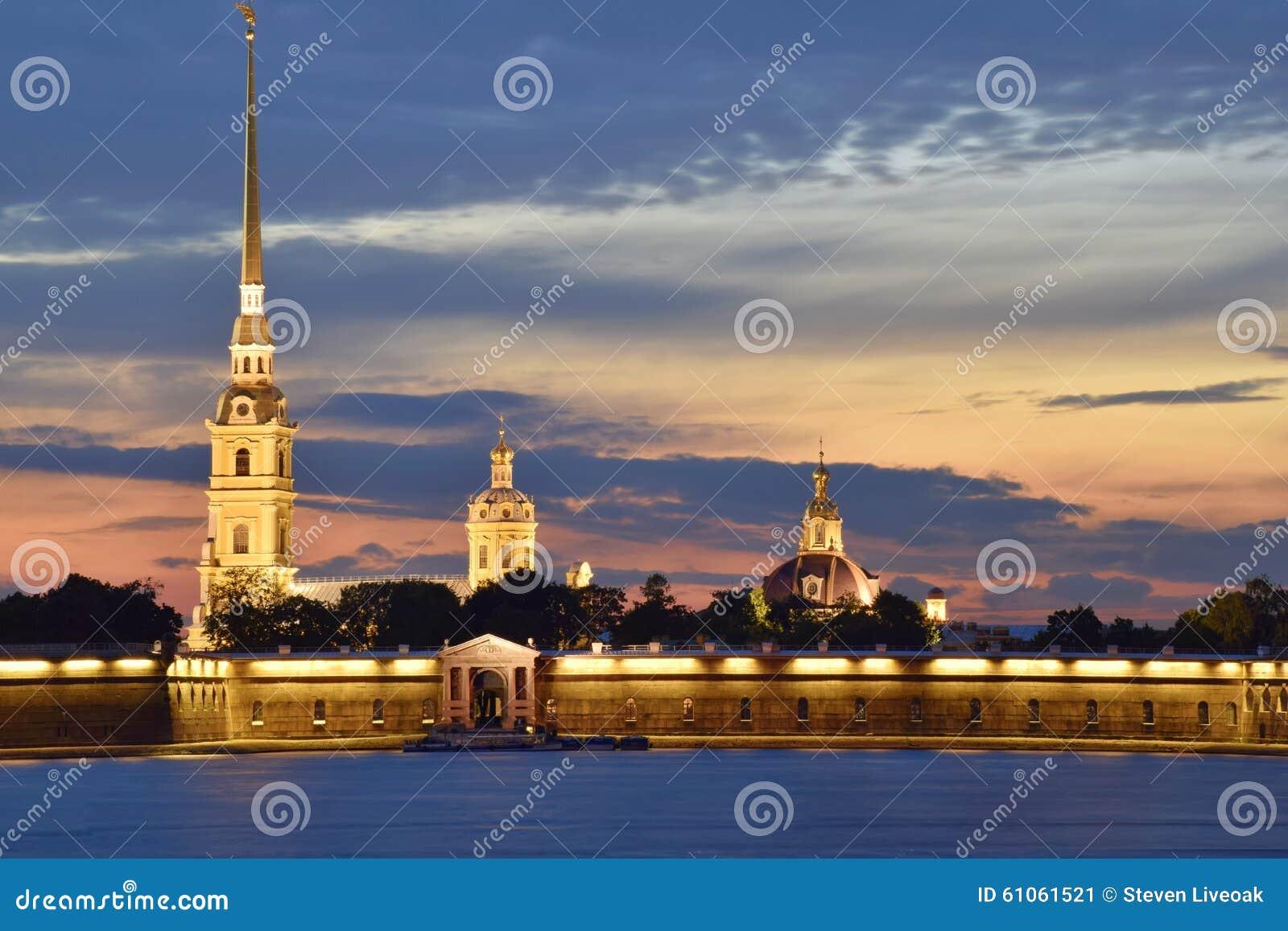 Peter en Paul Cathedral, Heilige Petersburg, Rusland