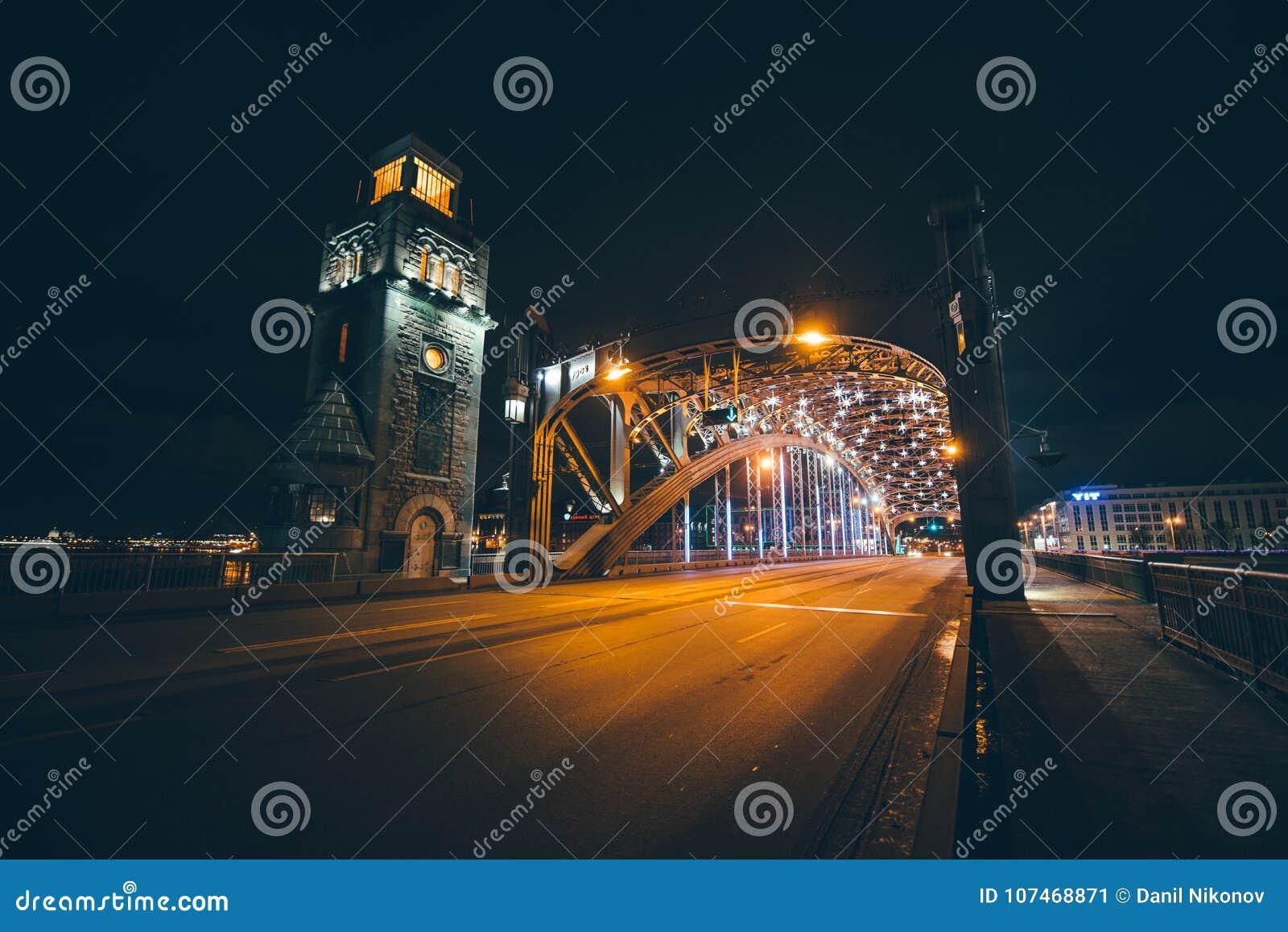 Peter The Great Bridge, St Petersburg, Rússia