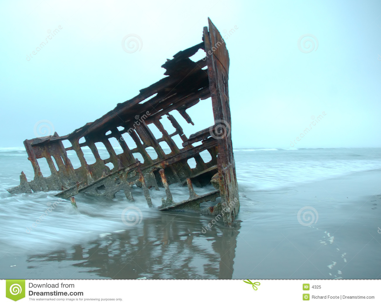 кораблекрушение peter iredale