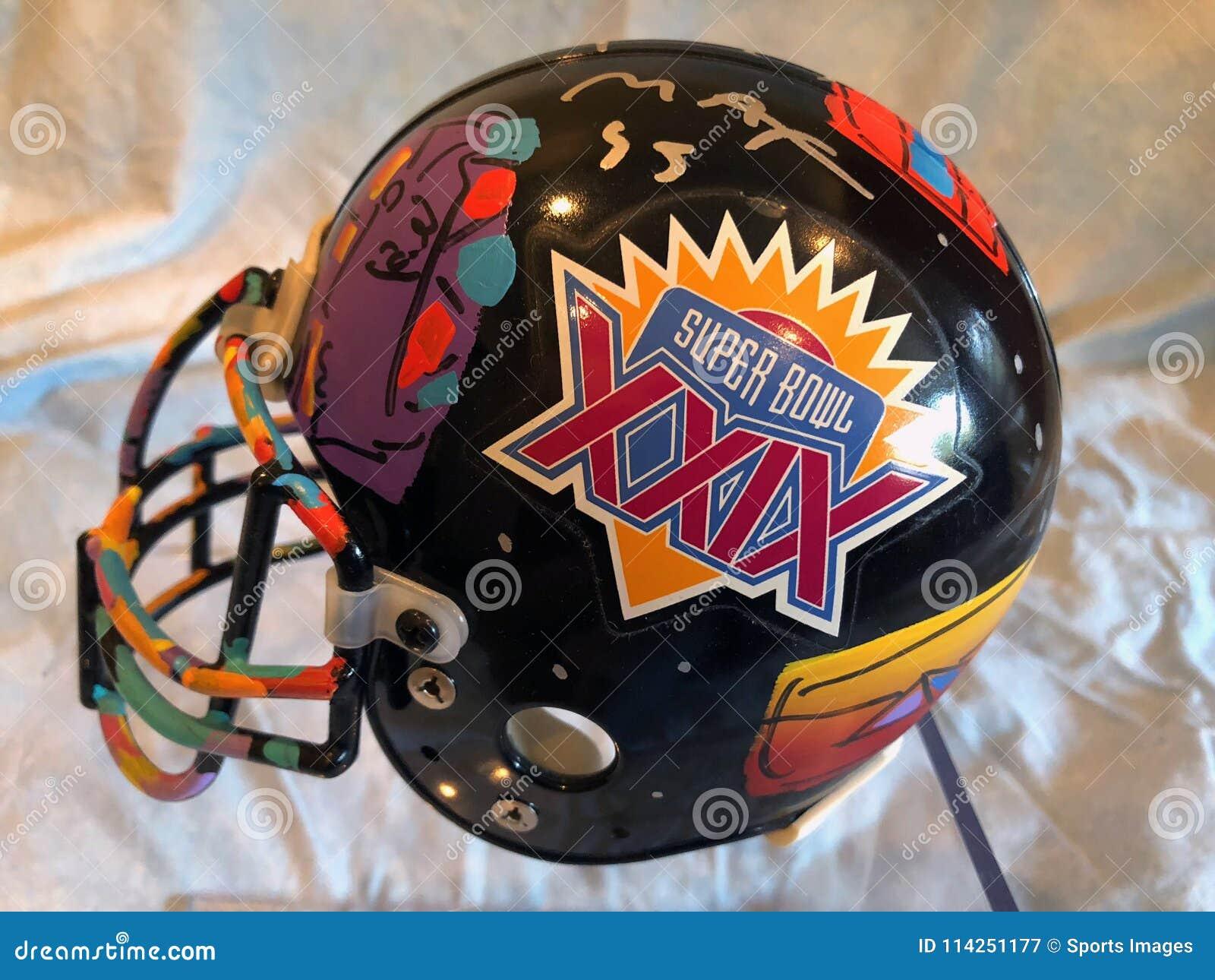 Peter Max Super Bowl XXIX Helmet