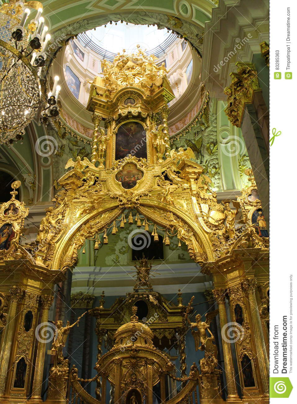 Download Peter And Paul Cathedral, Saint Petersburg Stock Image - Image of peter, museum: 83285363