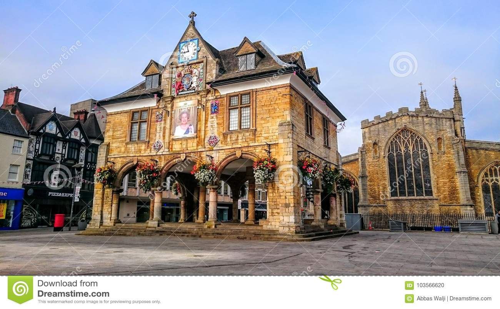 Peterborough-Kathedralen-Quadrat