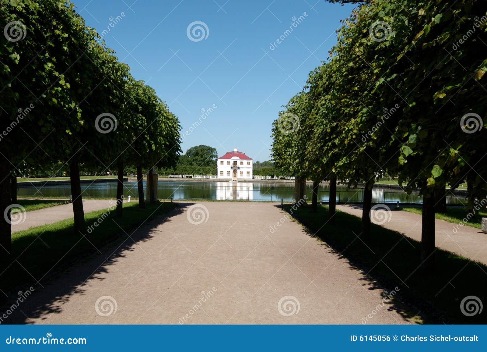 Peterhof palace in Russia