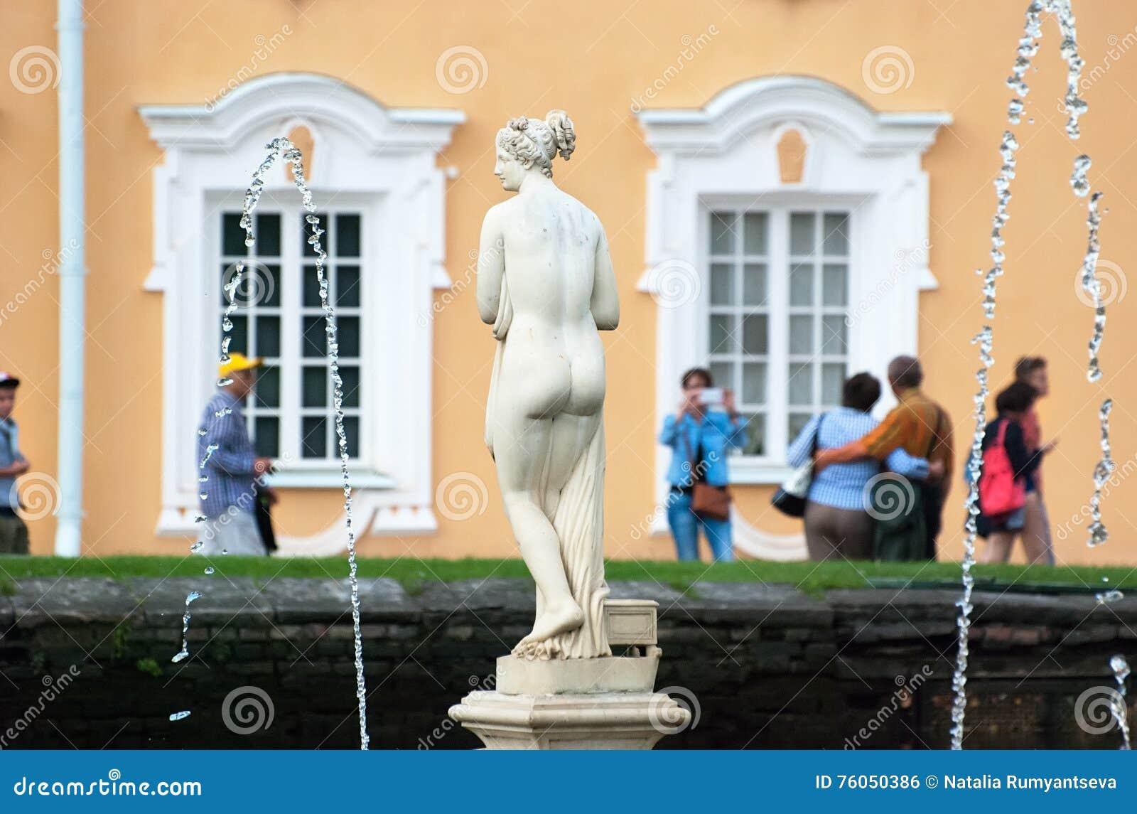 Peterhof Rússia Venus Italica Sculpture