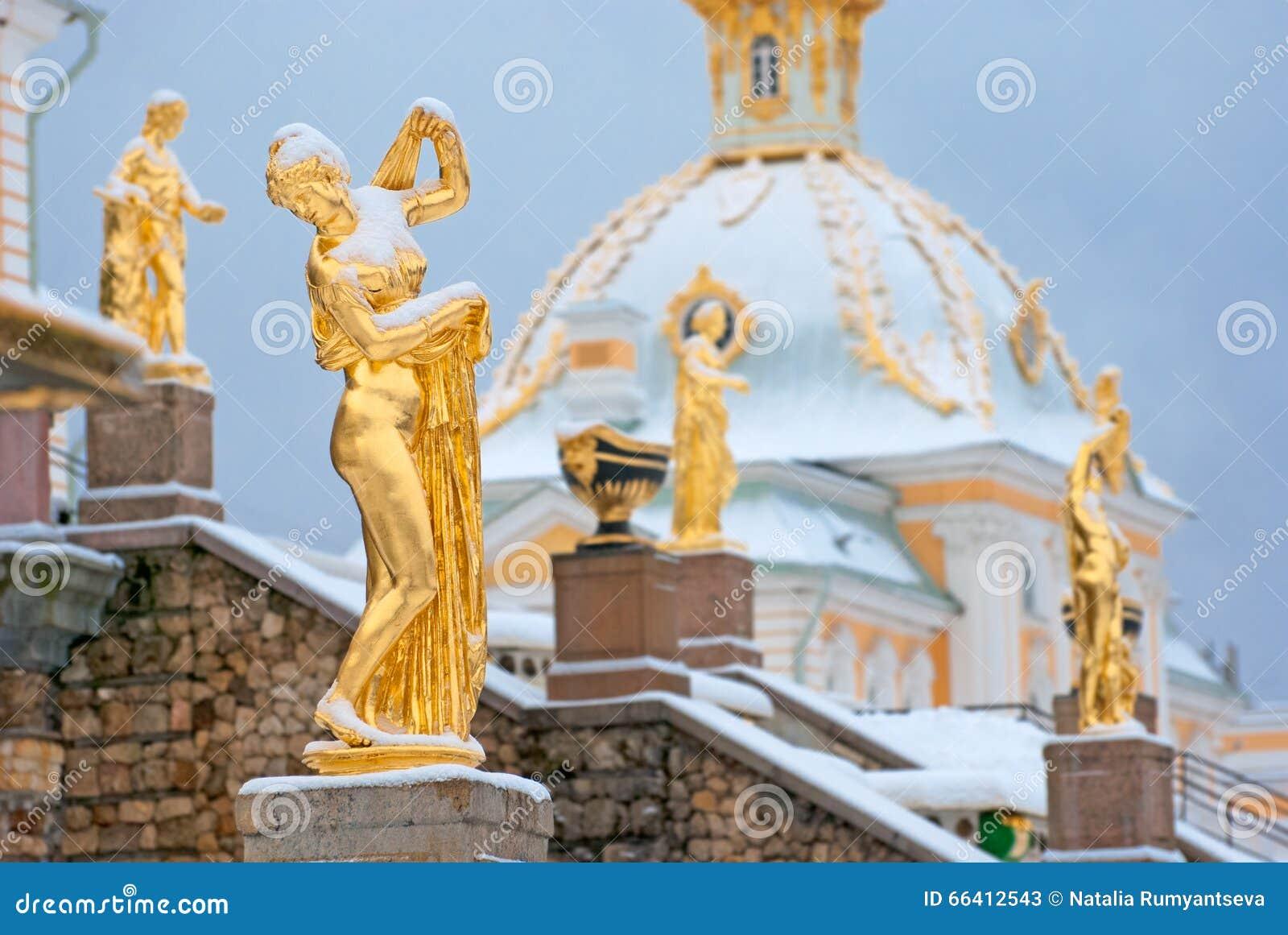 Peterhof Rosja Wenus Kallipygos rzeźba