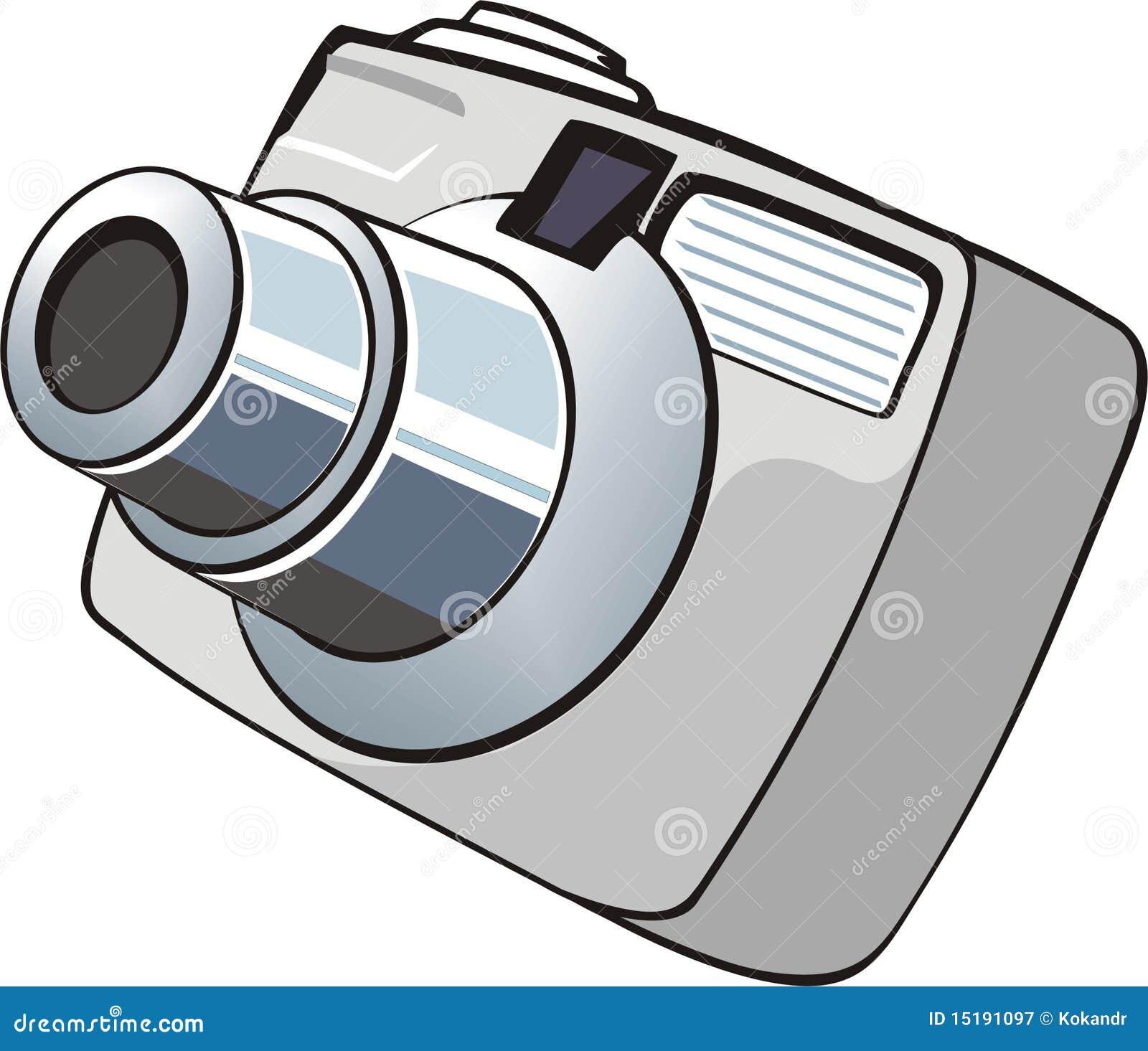 petit appareil photo digital de photo photographie stock libre de droits image 15191097. Black Bedroom Furniture Sets. Home Design Ideas