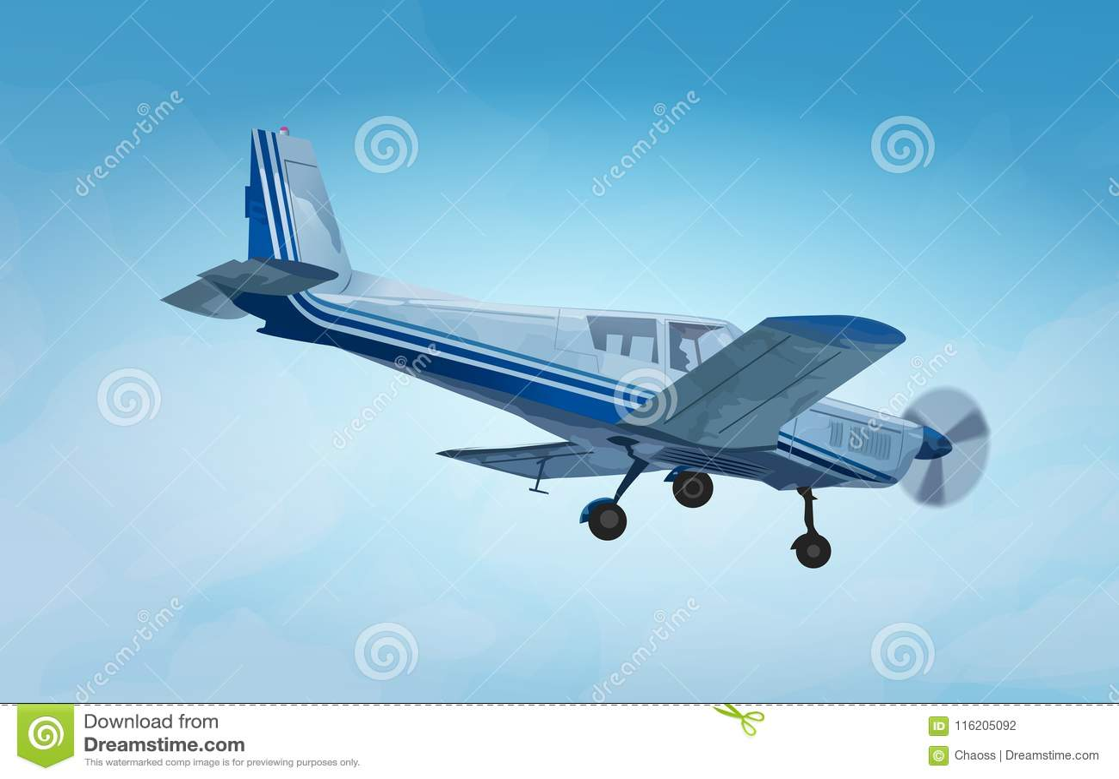 Petit avion privé