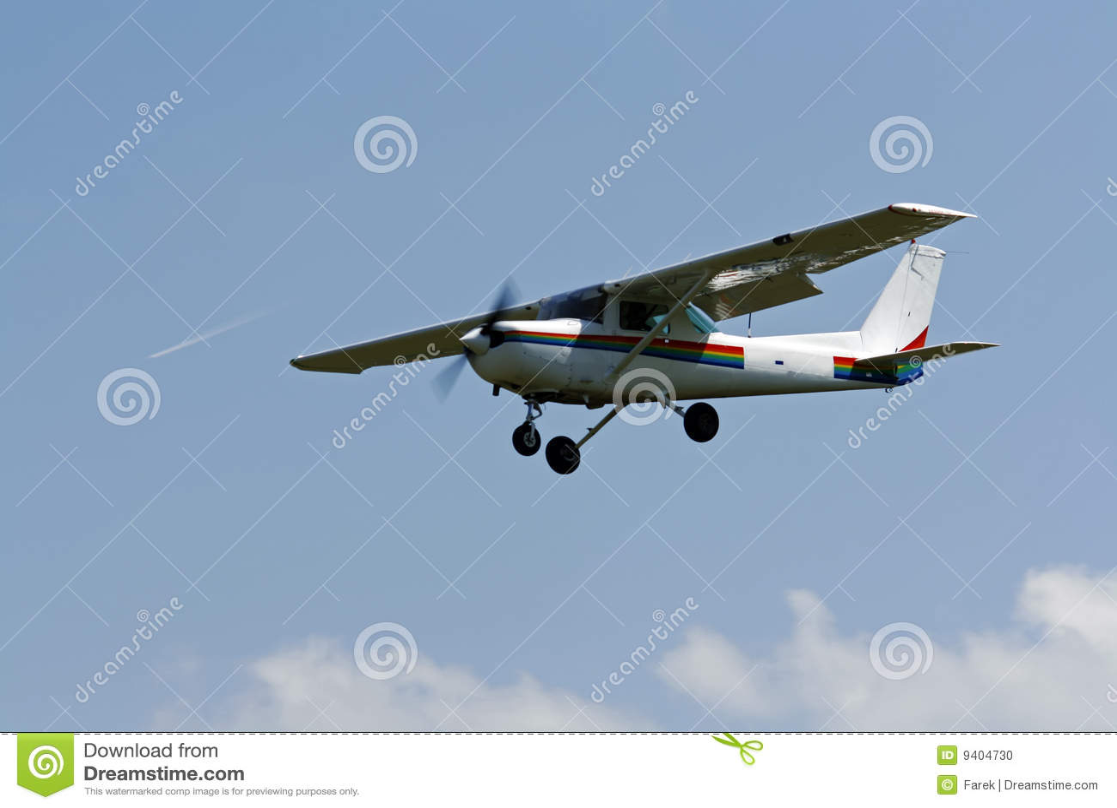 Petit avion volant