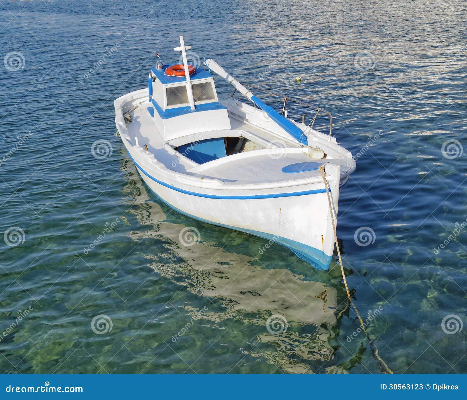 bateau de peche mer