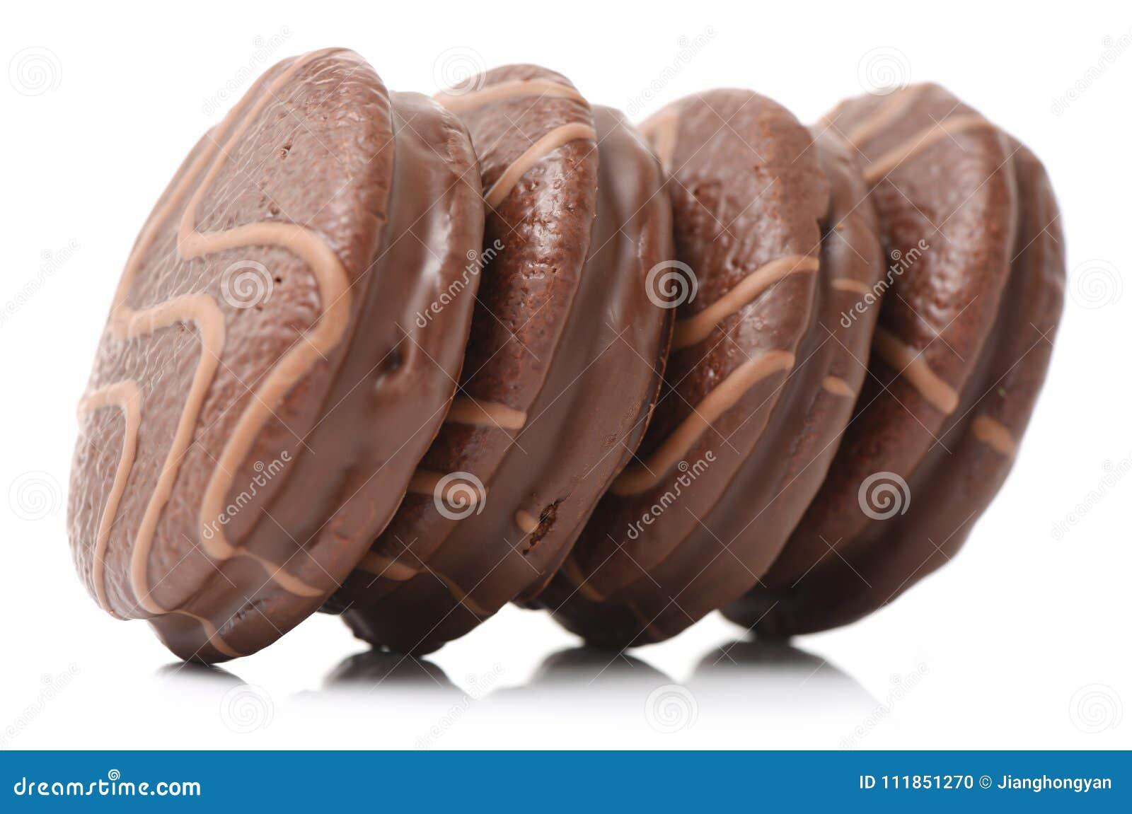 Petit Biscuit Rond De Chocolat Photo Stock Image Du Supplementaire