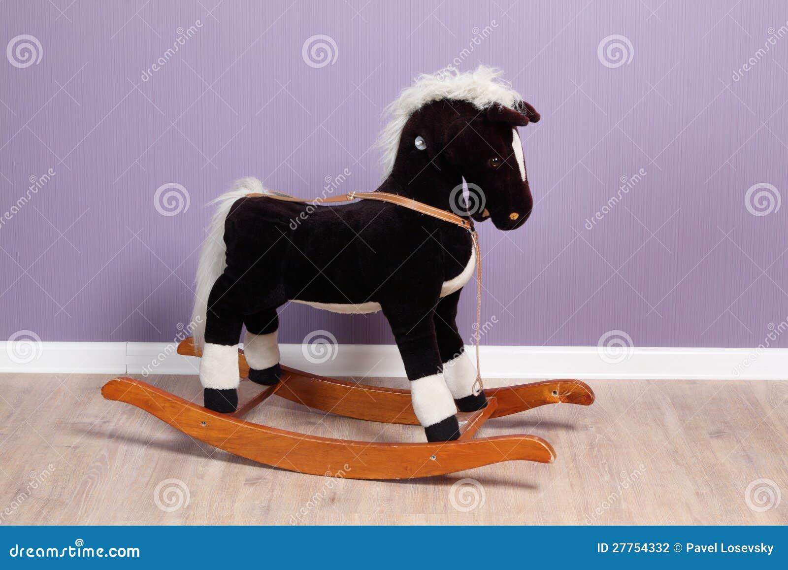 Petit cheval d oscillation dans la chambre