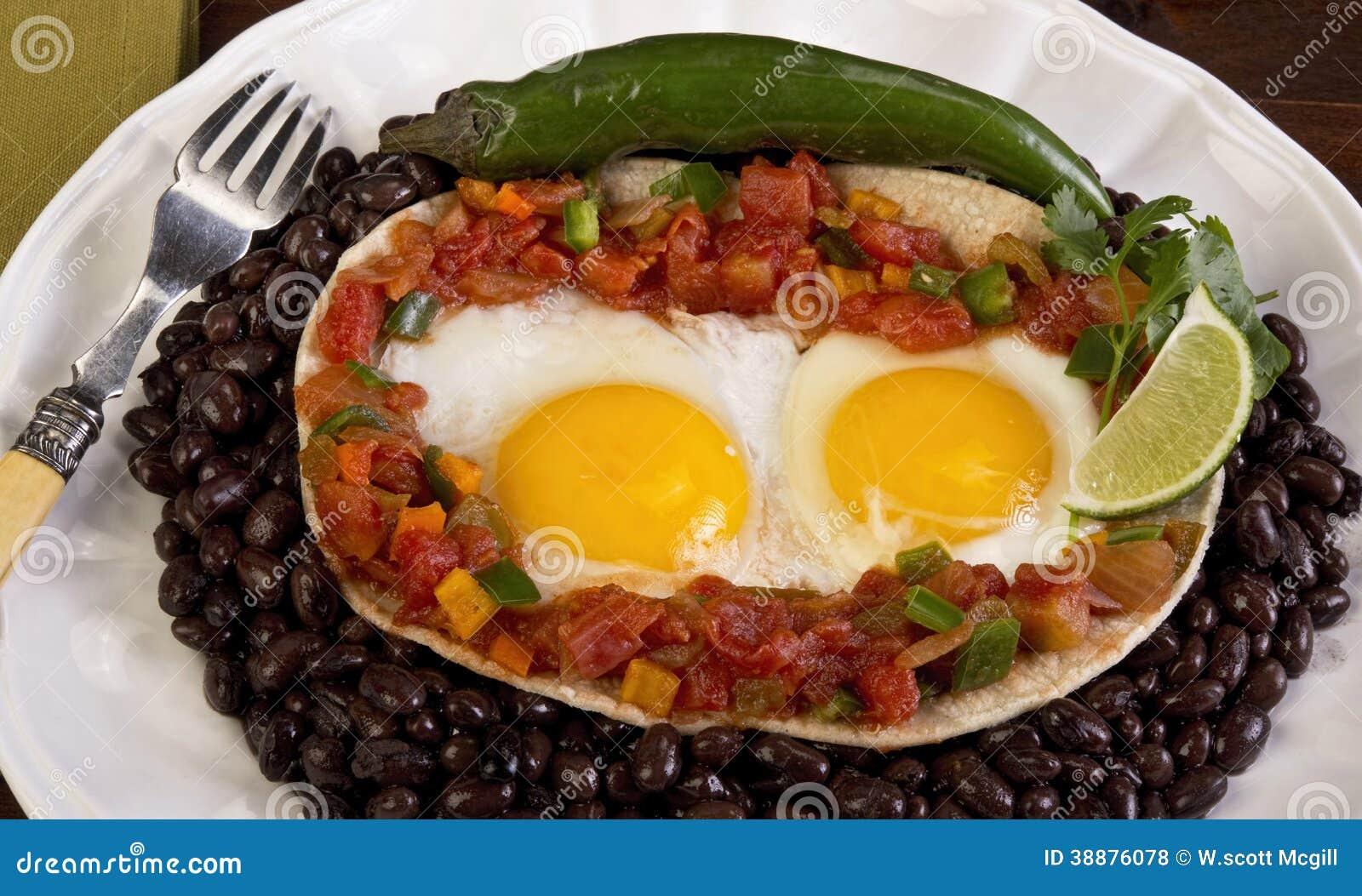 Très Petit Déjeuner Mexicain. Photo stock - Image: 38876078 BM45