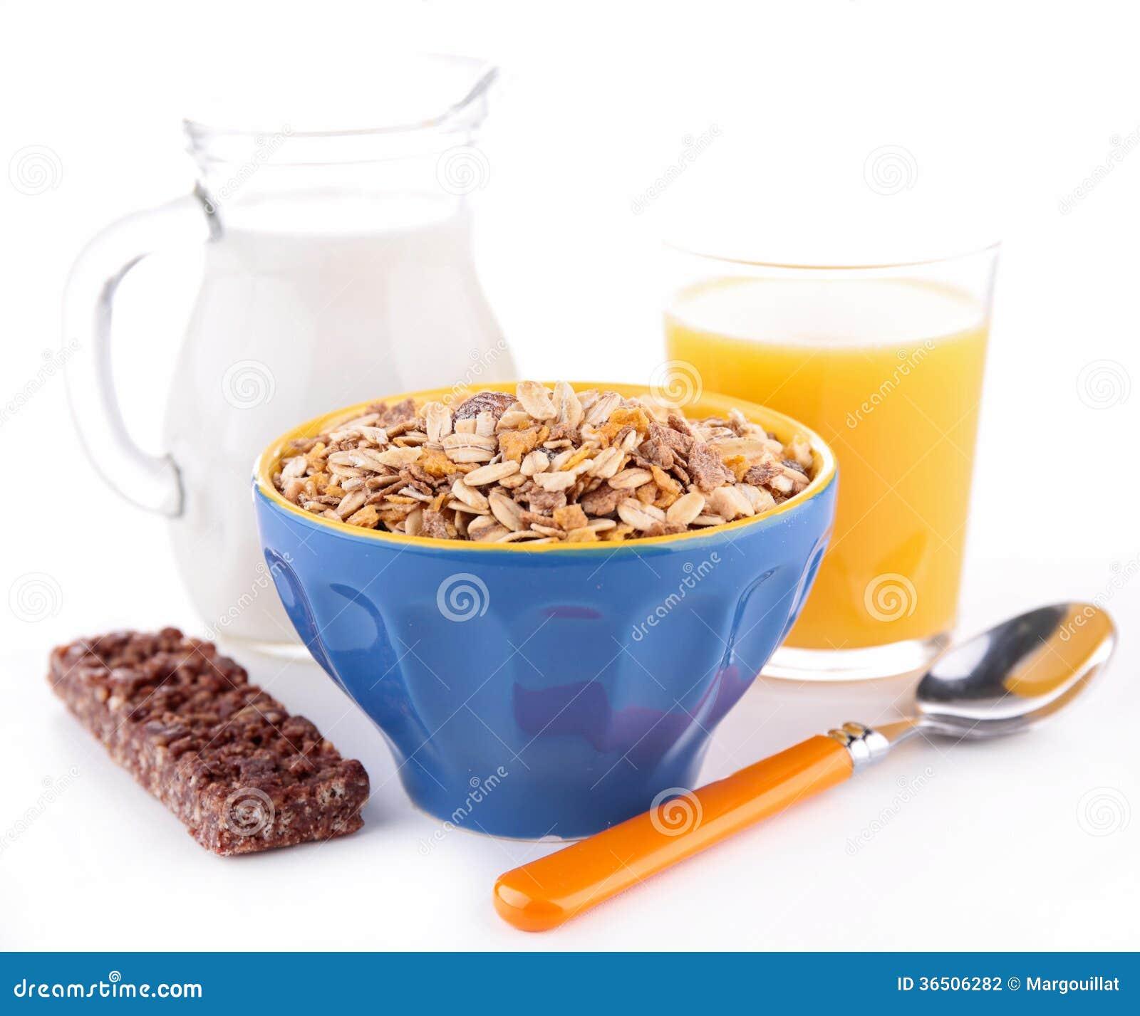 Petit déjeuner sain