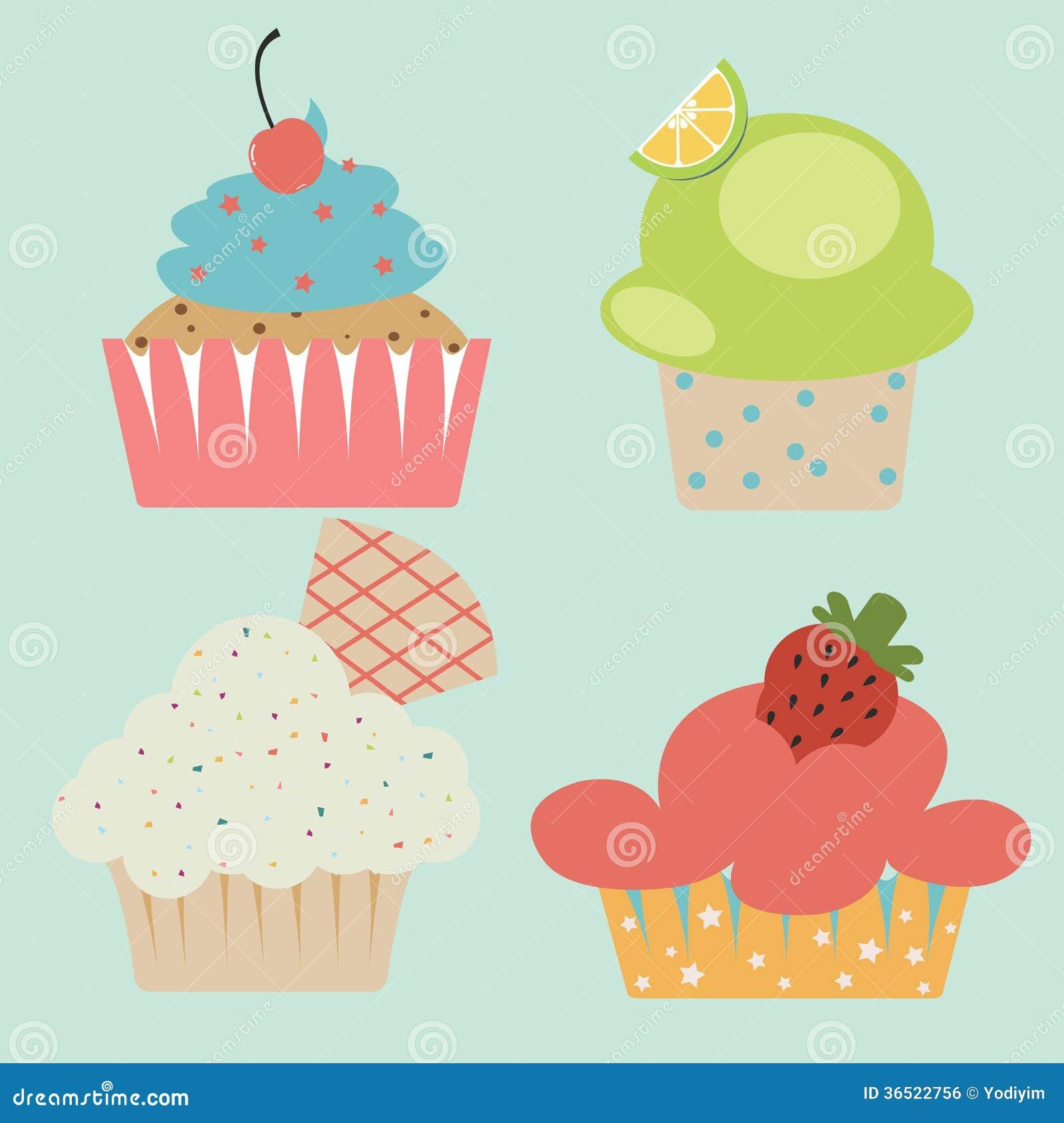 Petit gâteau mignon en pastel