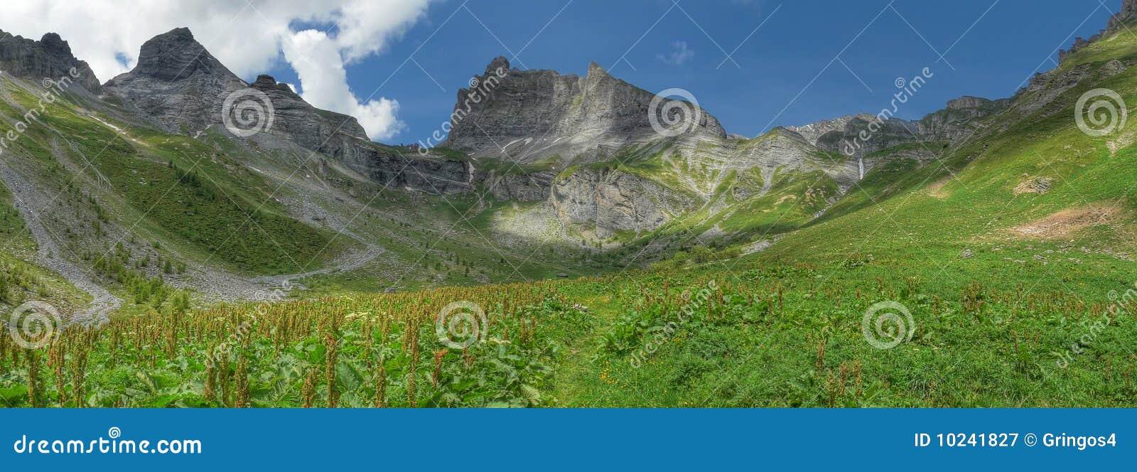 Petit muveran ovronnaz Switzerland