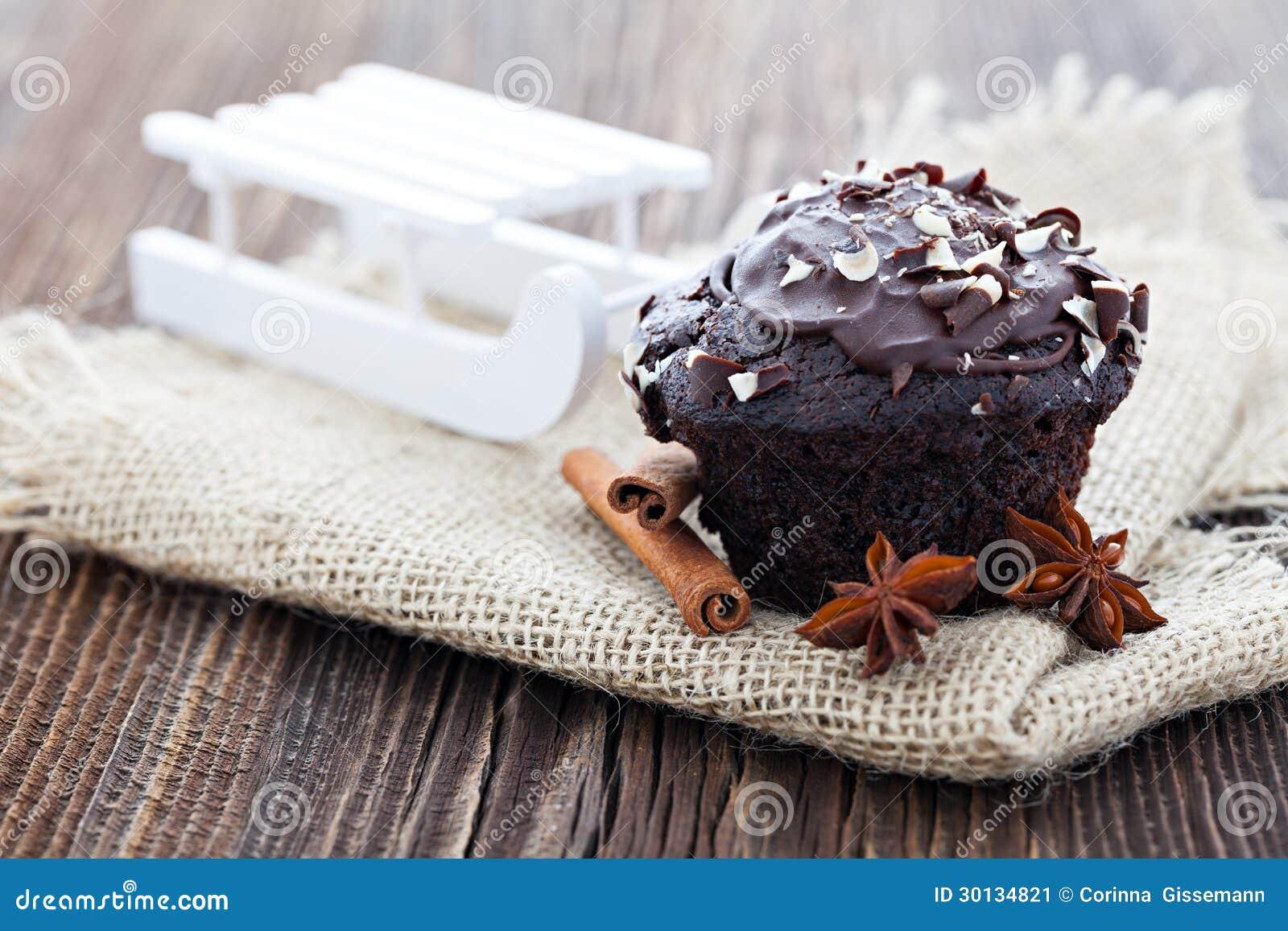 Petit pain de chocolat pour Noël