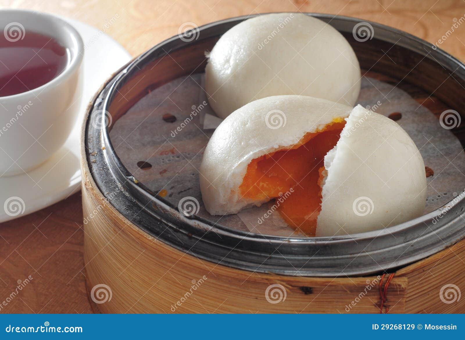 Petit pain de crème de dim sum