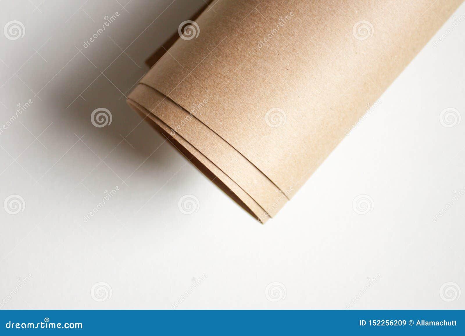 Petit pain de papier d emballage