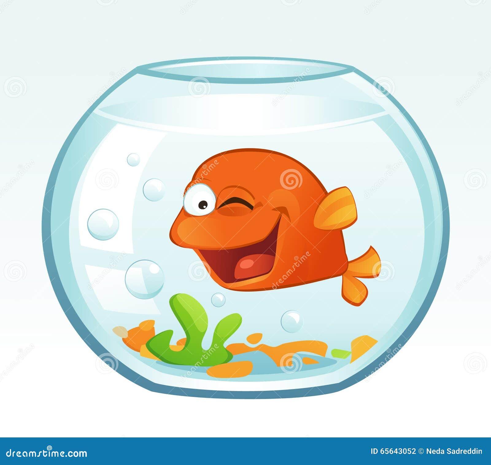Petit poisson rouge (cligner de l oeil)
