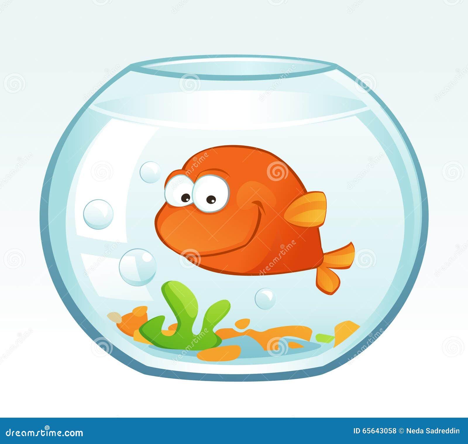 Petit poisson rouge (sourire)