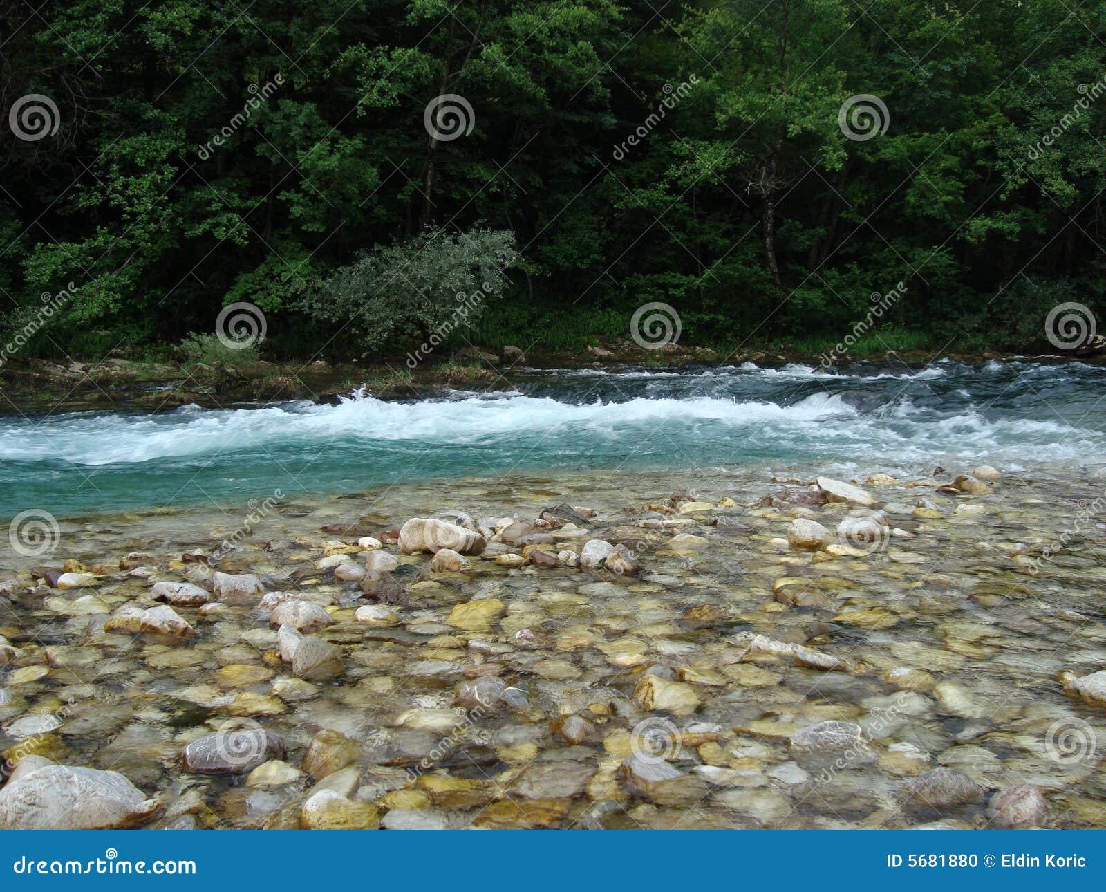 Petit rapid sur le fleuve