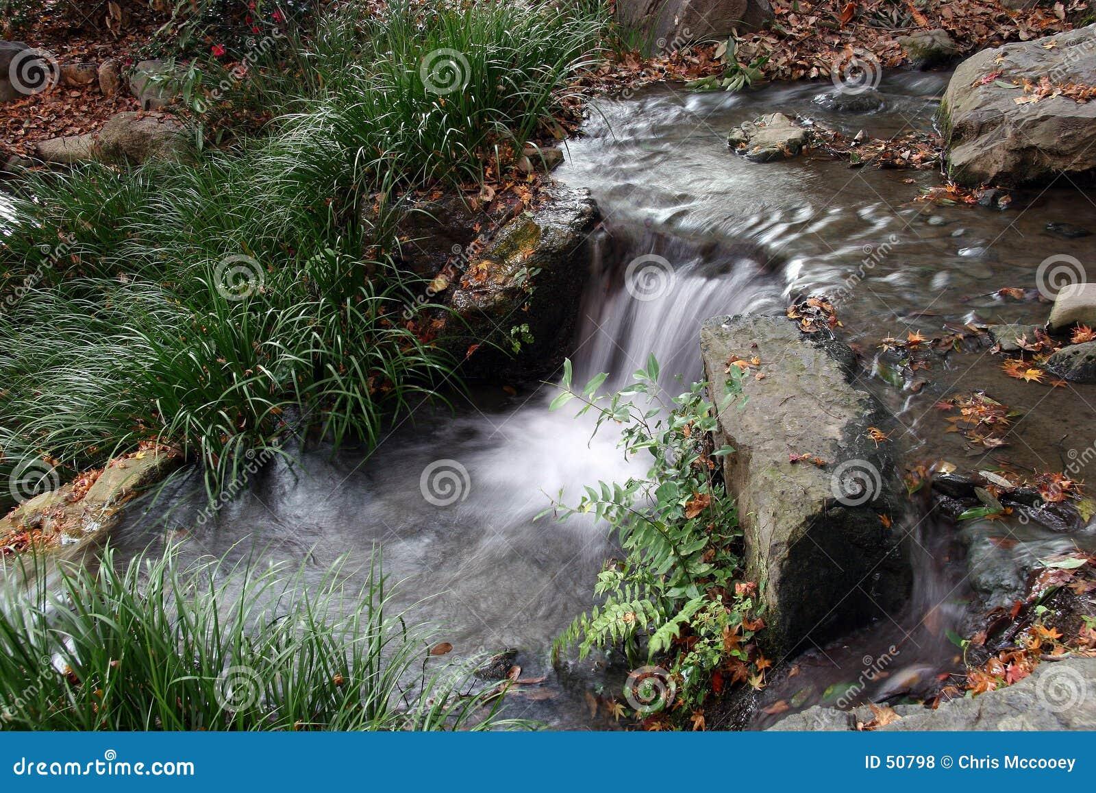 Download Petit ruisseau photo stock. Image du lame, ruisseaux, waterfalls - 50798