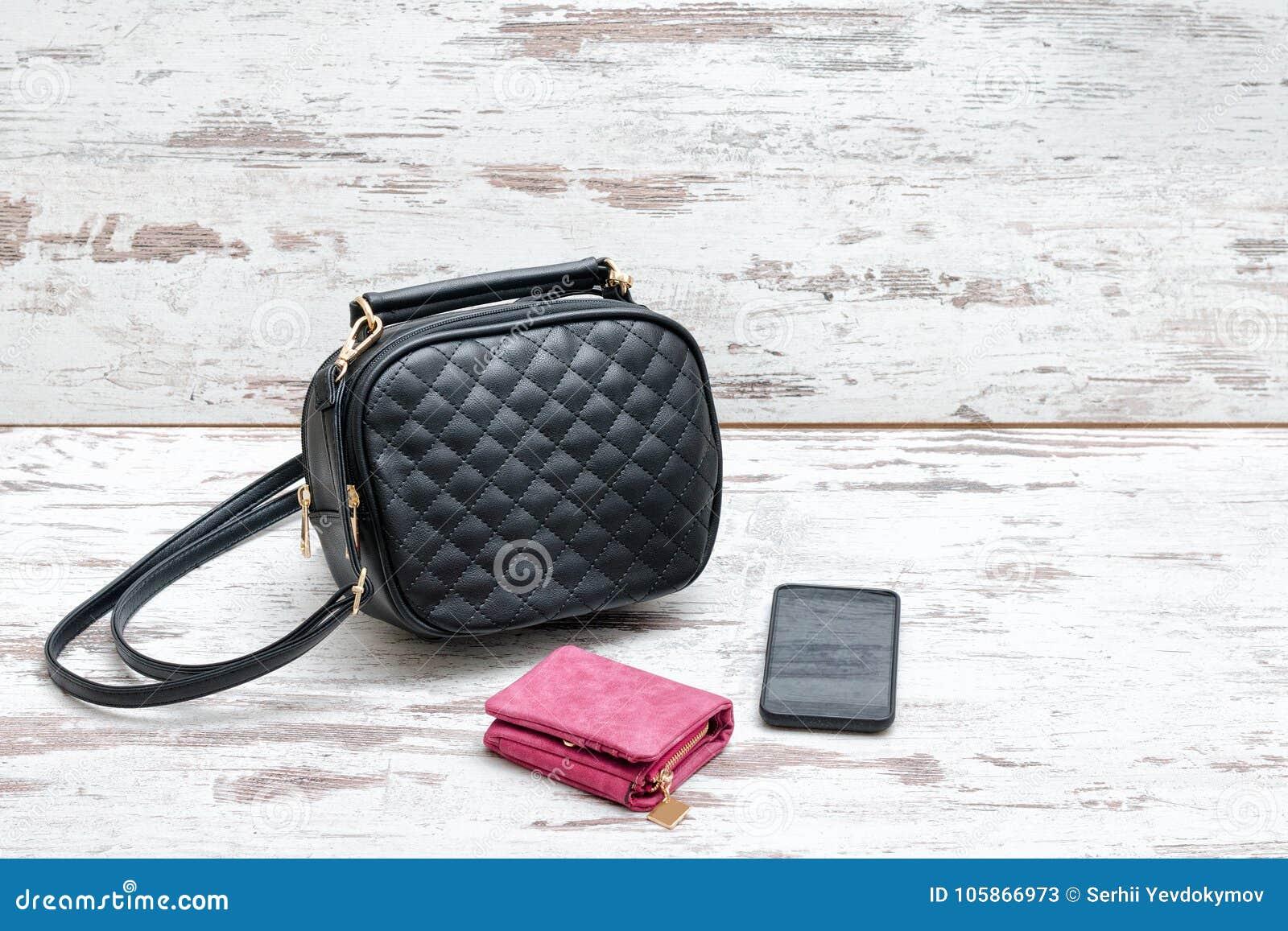 Intelligent De Rose Petit Et Sac À DamesBourse Main Noir Téléphone NwPkn0O8XZ