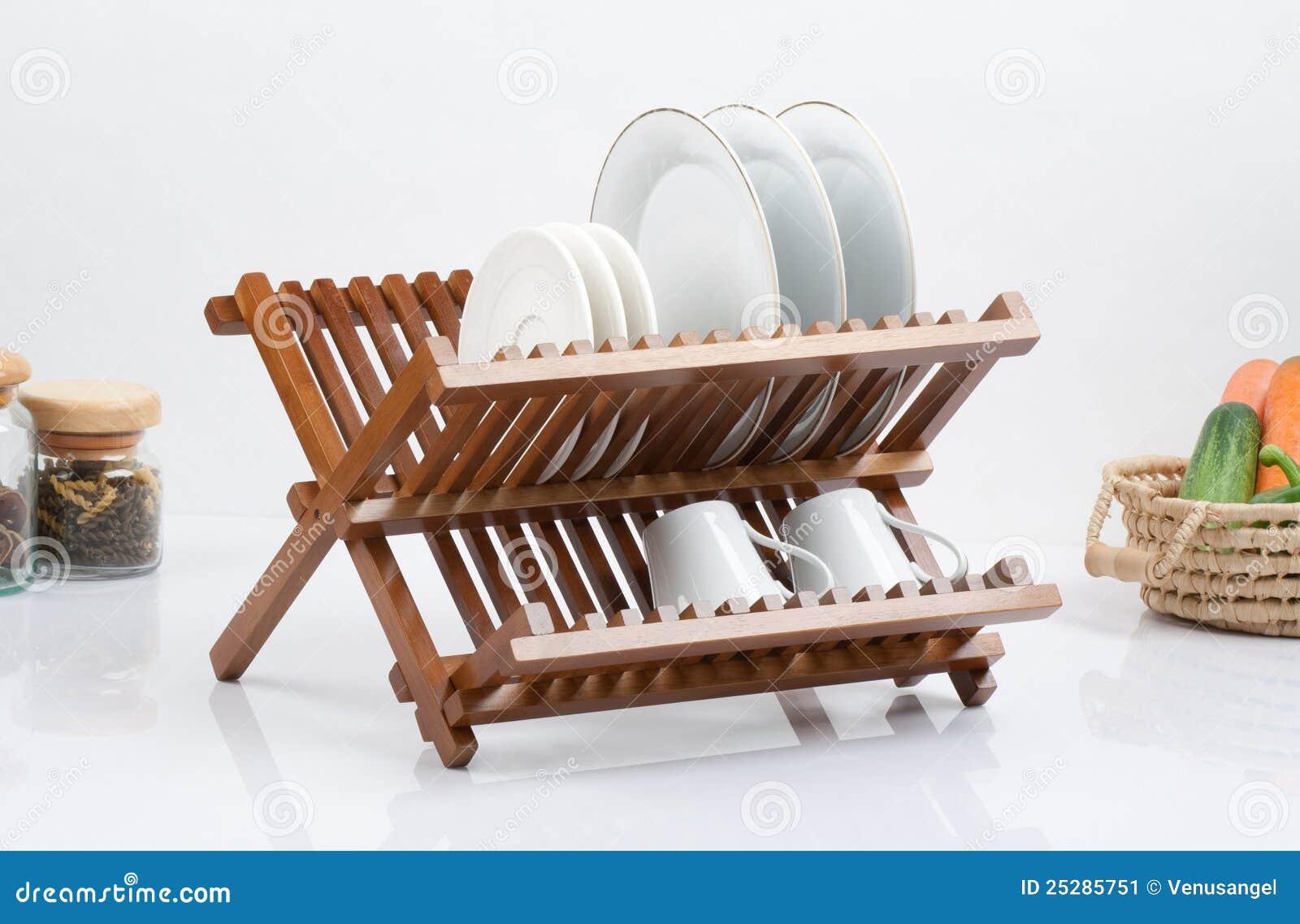 petite tag re en bois image stock image 25285751. Black Bedroom Furniture Sets. Home Design Ideas