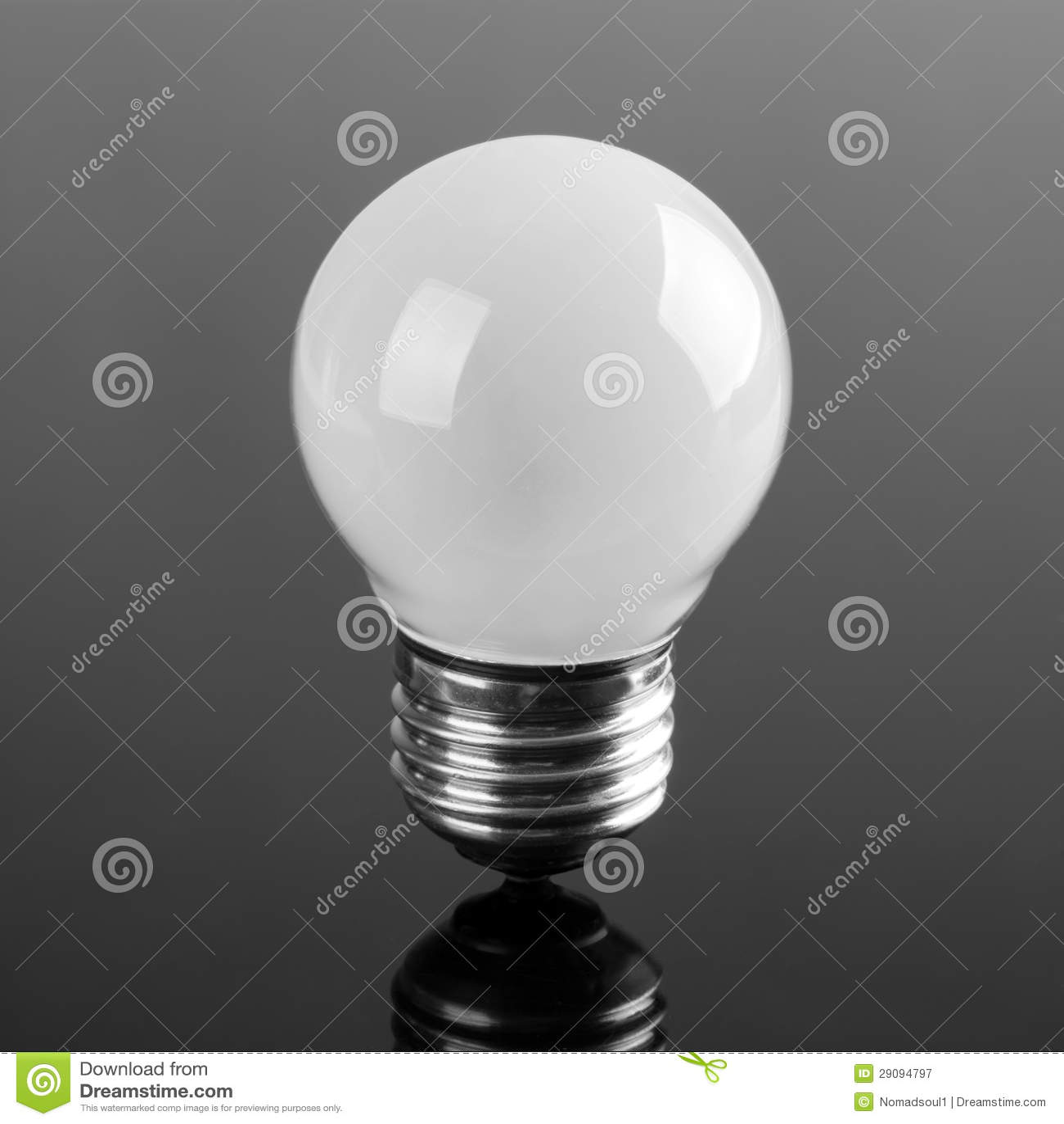 petite ampoule opaque photographie stock libre de droits. Black Bedroom Furniture Sets. Home Design Ideas