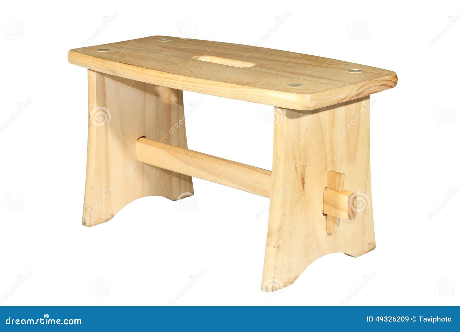 petite chaise traditionnelle en bois d 39 isolement image. Black Bedroom Furniture Sets. Home Design Ideas