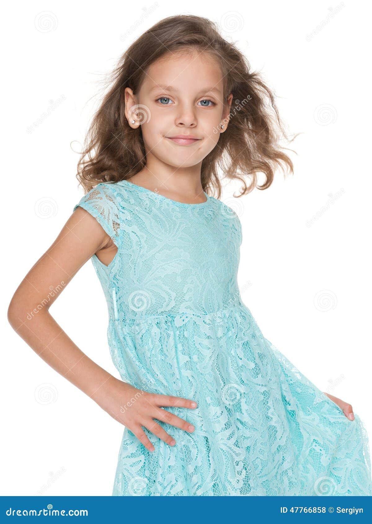 Petite fille drôle