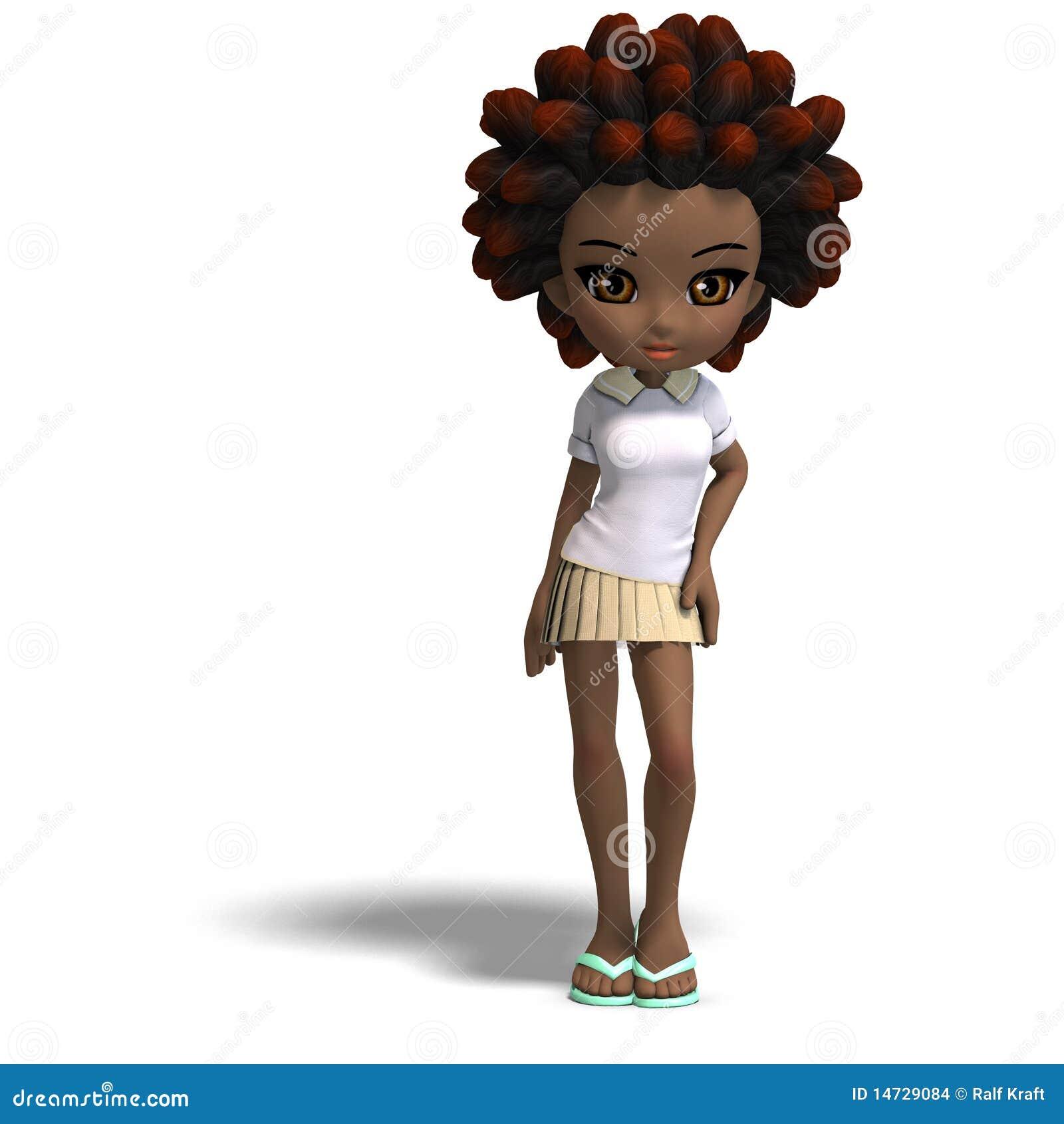 Petite Fille Mignonne D 233 Cole De Dessin Anim 233 Avec Le