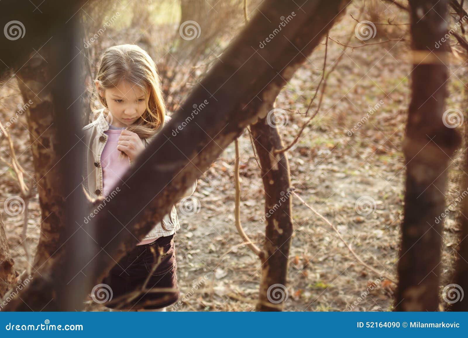 Petite fille perdue