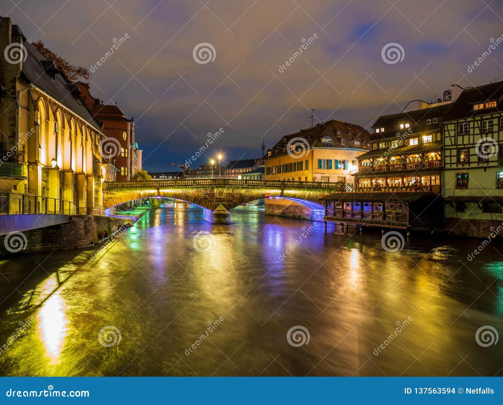 Petite France area in Strasbourg